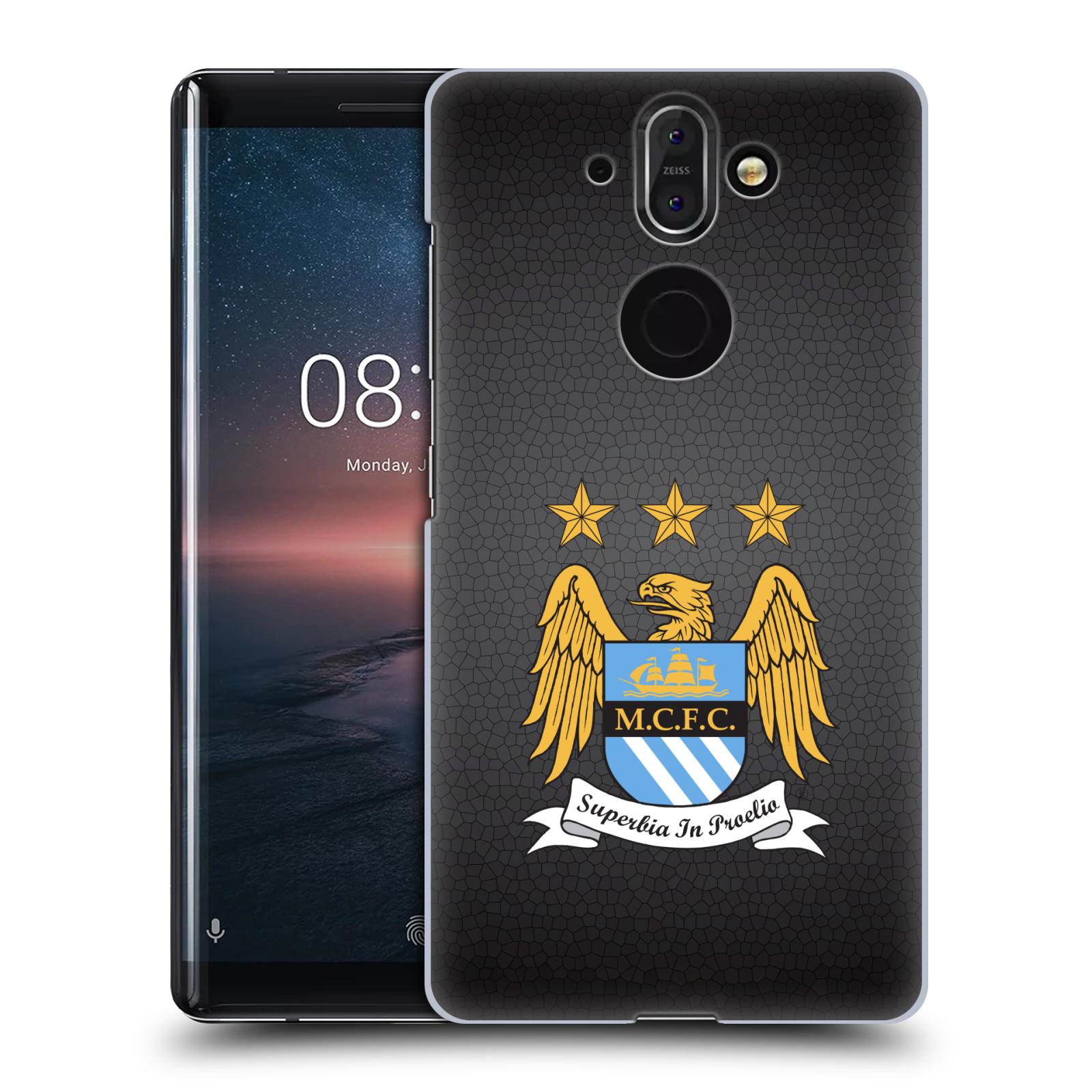 Plastové pouzdro na mobil Nokia 8 Sirocco - Head Case - Manchester City FC - Superbia In Proelio
