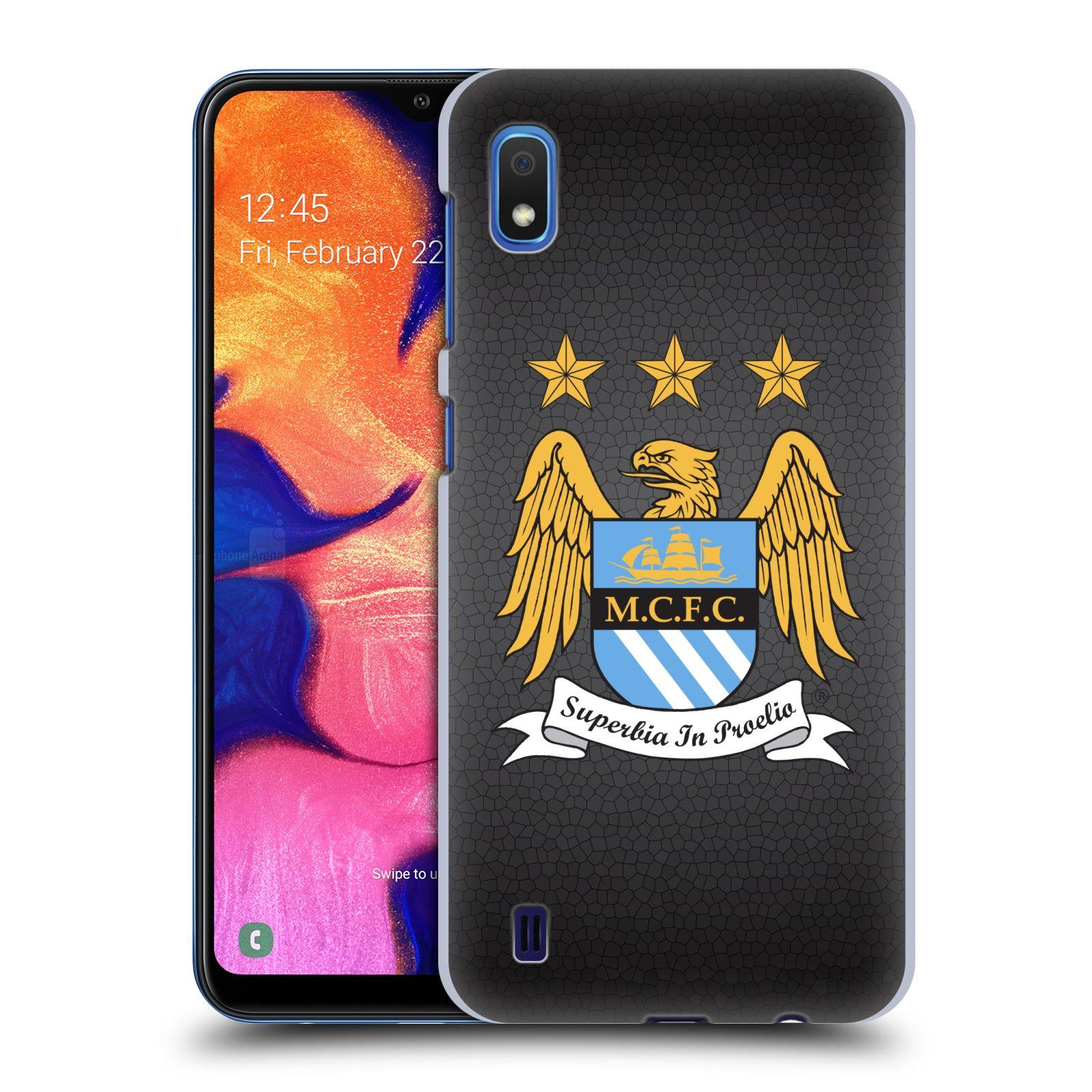 Plastové pouzdro na mobil Samsung Galaxy A10 - Head Case - Manchester City FC - Superbia In Proelio