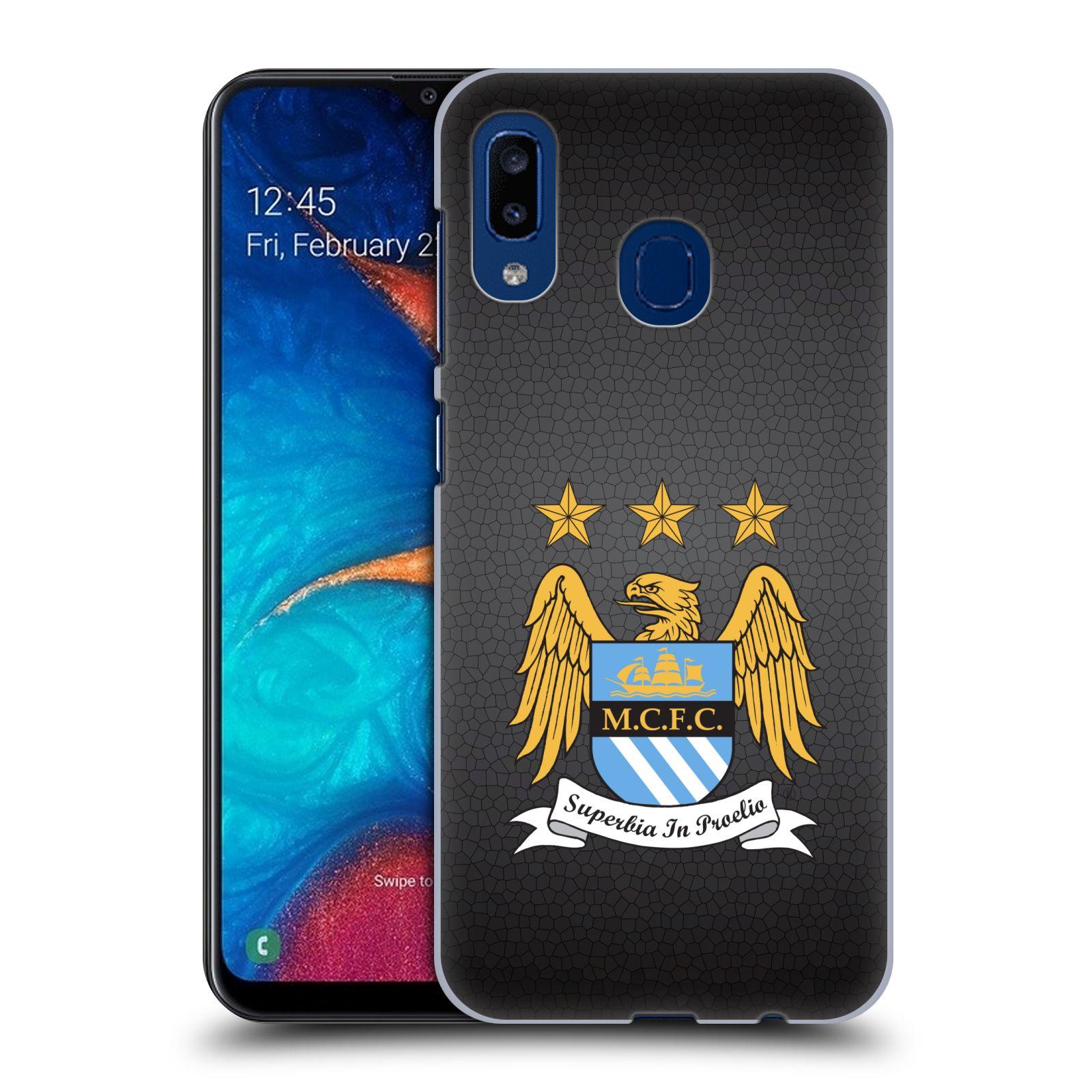 Plastové pouzdro na mobil Samsung Galaxy A20 - Head Case - Manchester City FC - Superbia In Proelio