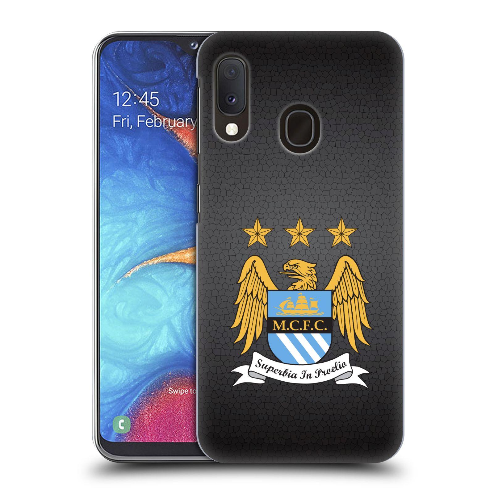 Plastové pouzdro na mobil Samsung Galaxy A20e - Head Case - Manchester City FC - Superbia In Proelio