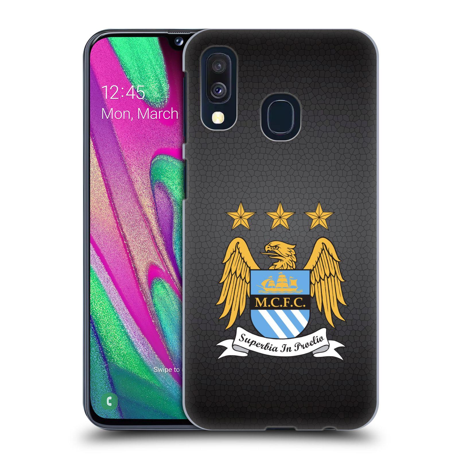 Plastové pouzdro na mobil Samsung Galaxy A40 - Head Case - Manchester City FC - Superbia In Proelio