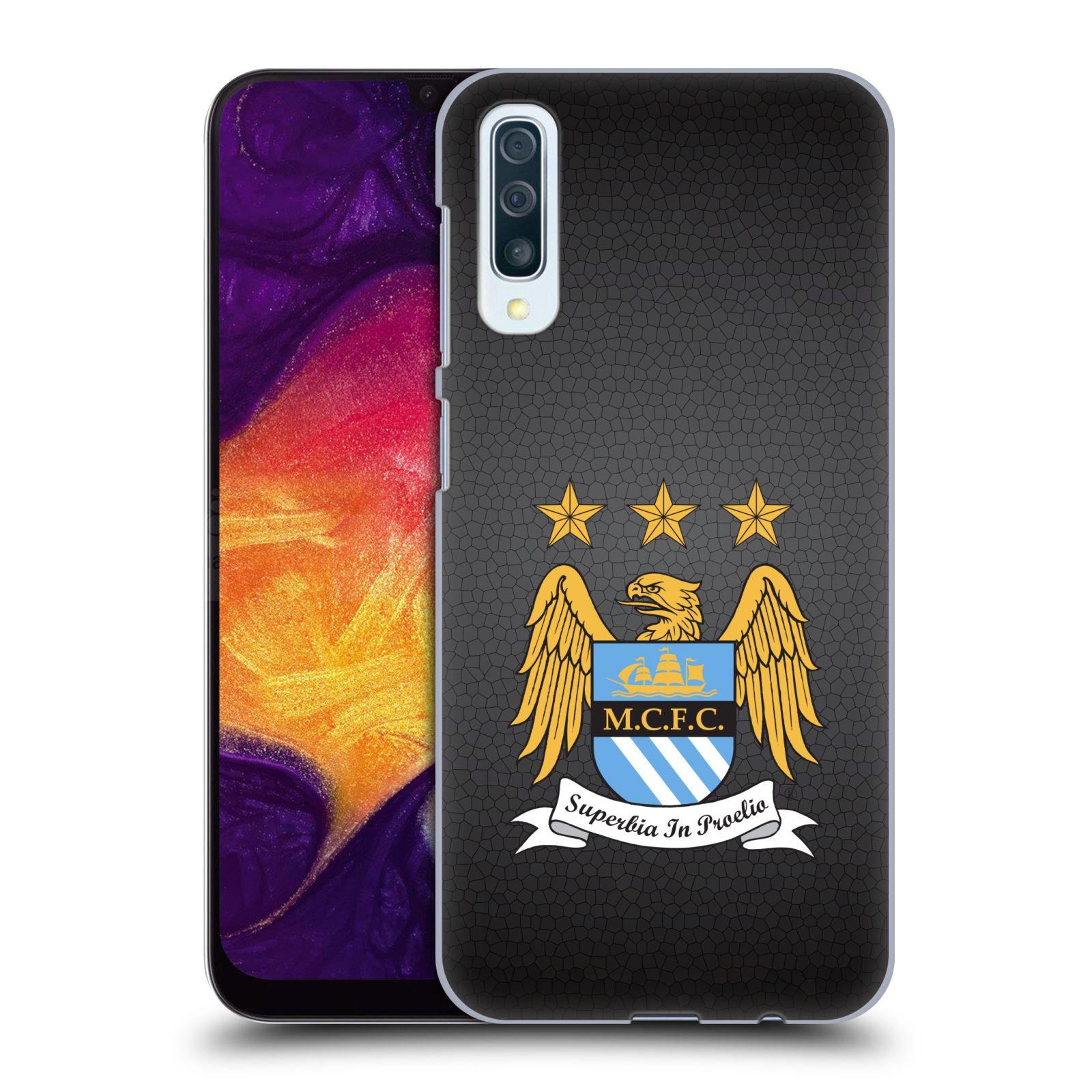 Plastové pouzdro na mobil Samsung Galaxy A50 - Head Case - Manchester City FC - Superbia In Proelio