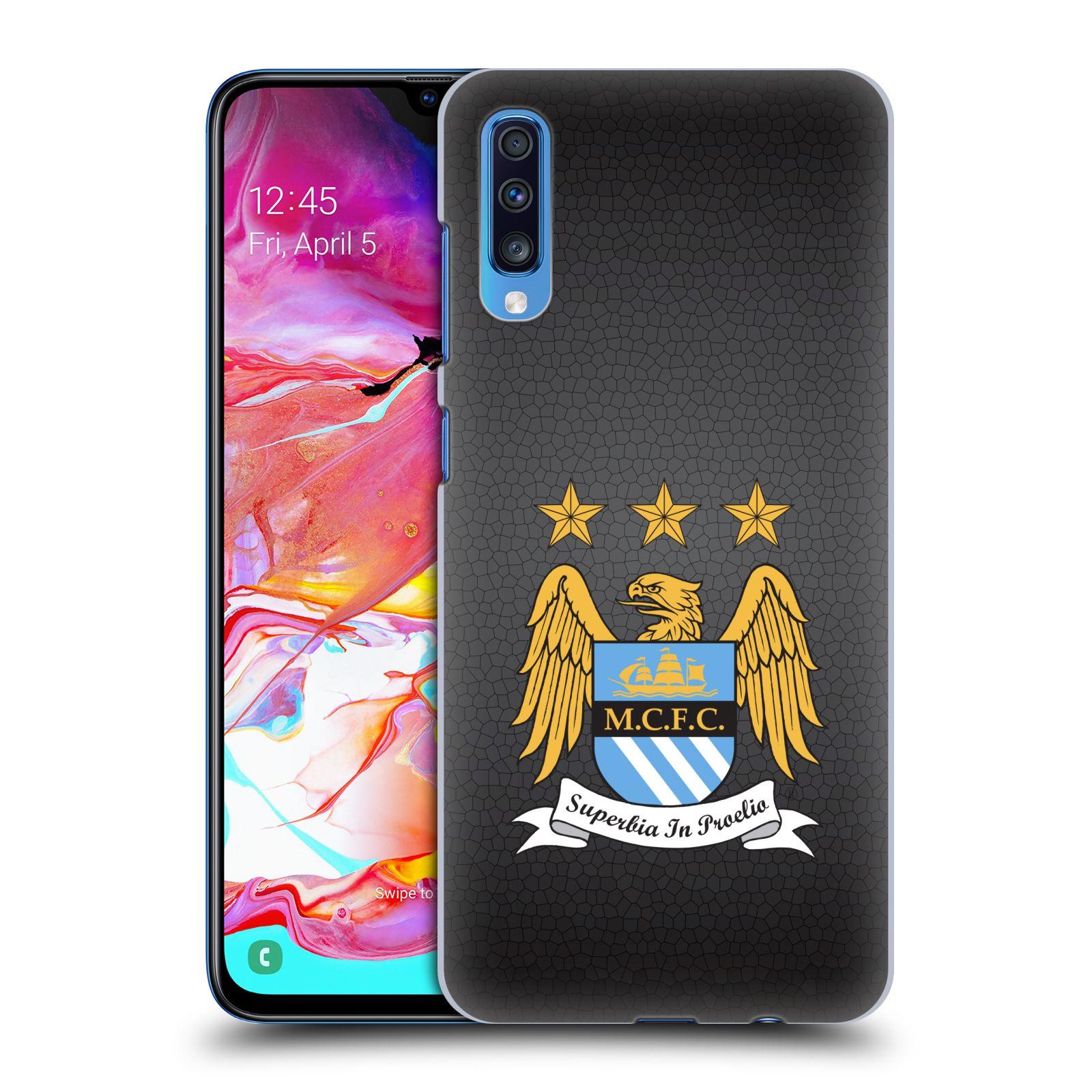 Plastové pouzdro na mobil Samsung Galaxy A70 - Head Case - Manchester City FC - Superbia In Proelio