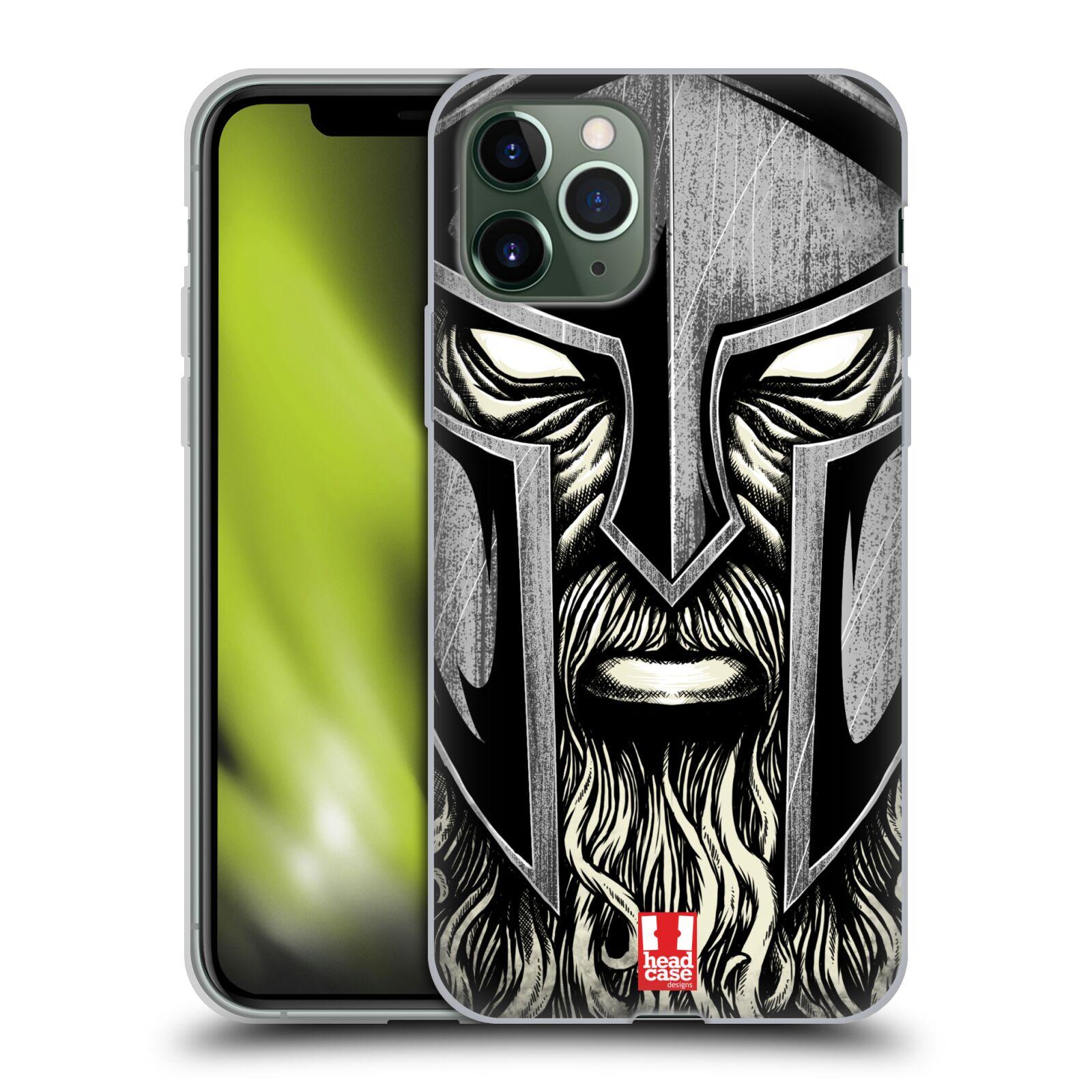 gucci iphone 8 plus case amazon - Silikonové pouzdro na mobil Apple iPhone 11 Pro - Head Case - Vousáč válečník