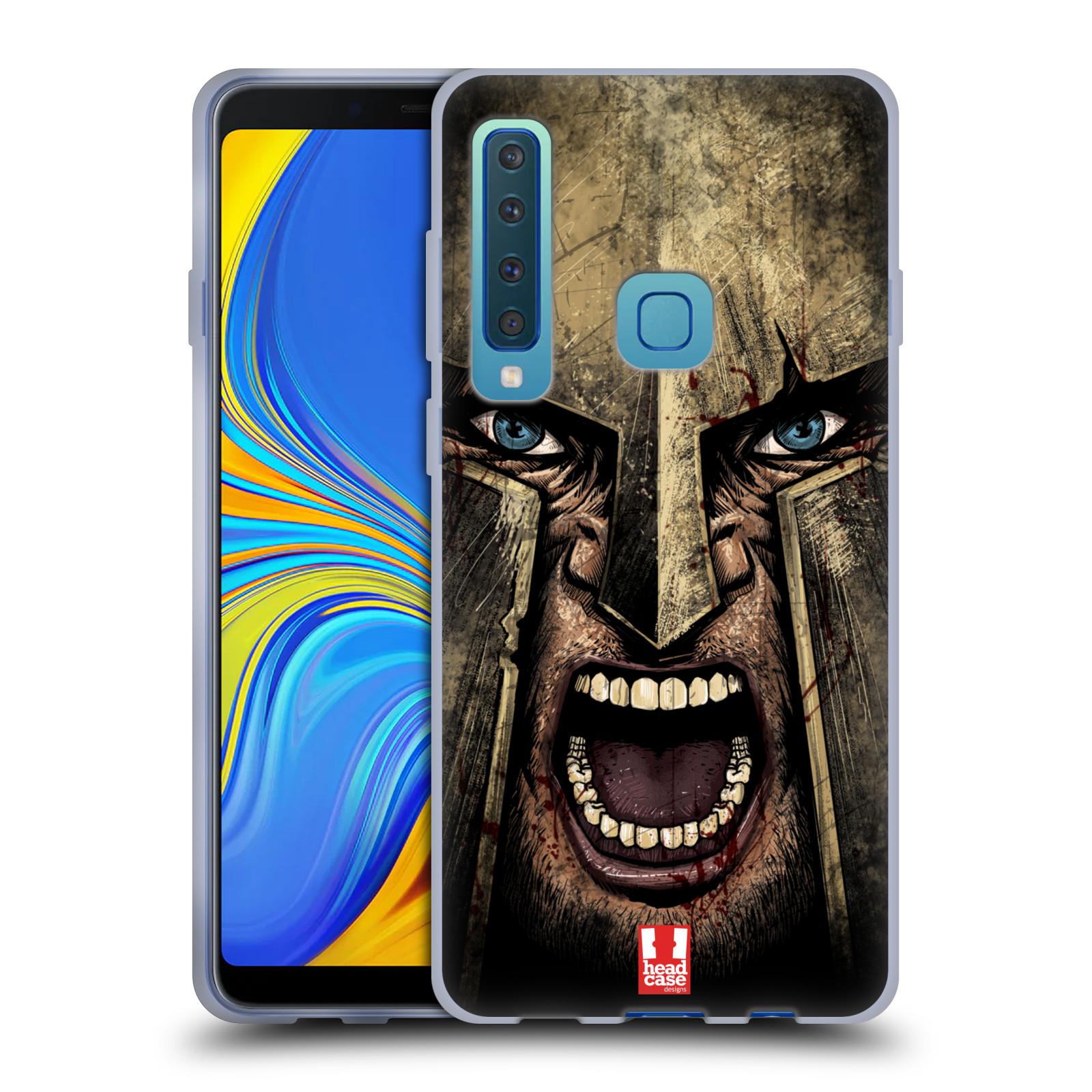 Silikonové pouzdro na mobil Samsung Galaxy A9 (2018) - Head Case - Řvoucí válečník