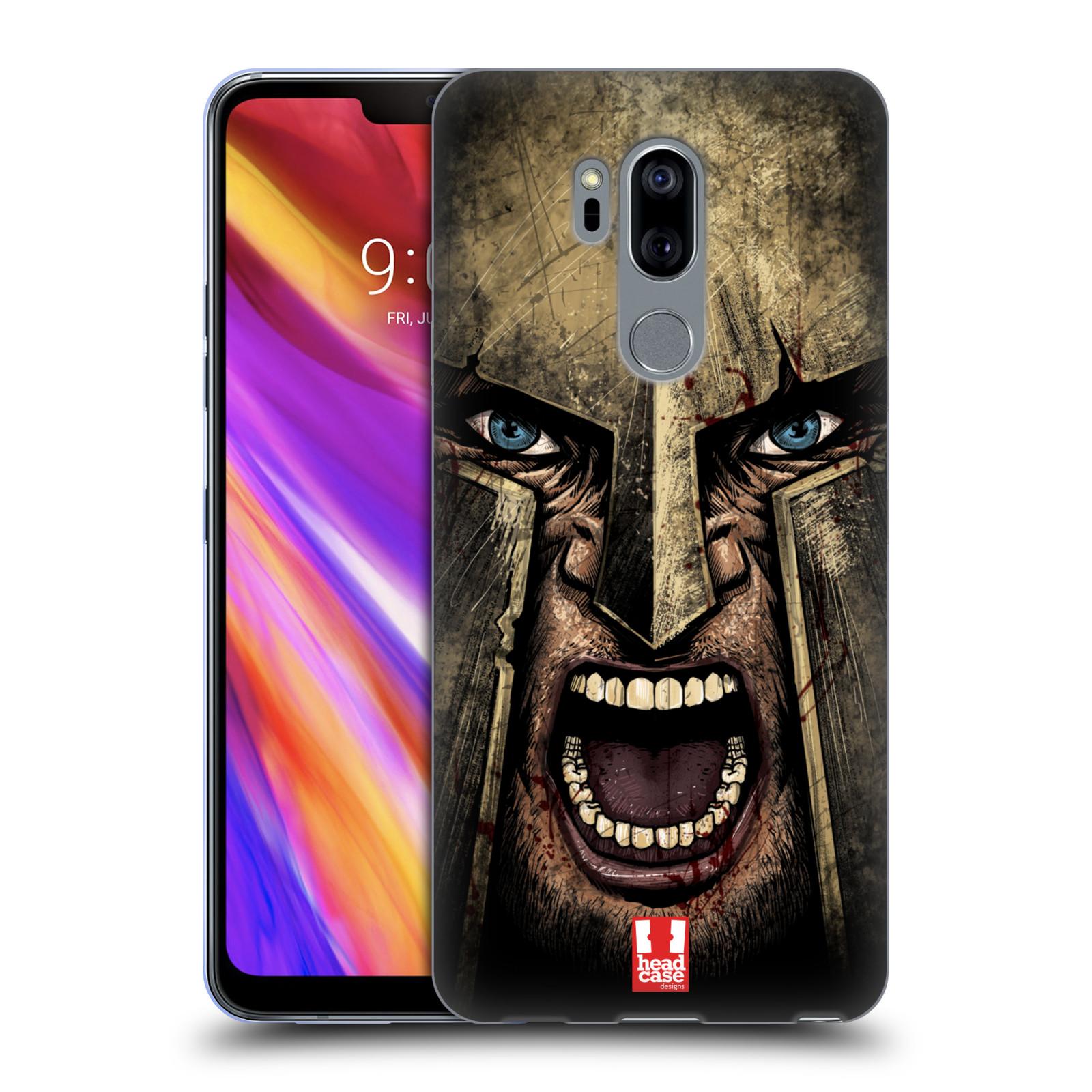 Silikonové pouzdro na mobil LG G7 ThinQ - Head Case - Řvoucí válečník