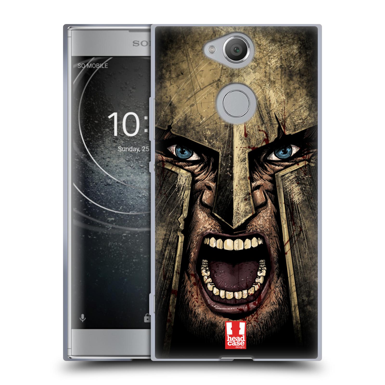 Silikonové pouzdro na mobil Sony Xperia XA2 - Head Case - Řvoucí válečník