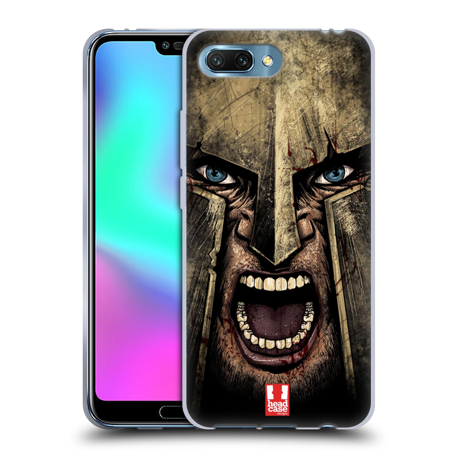 Silikonové pouzdro na mobil Honor 10 - Head Case - Řvoucí válečník