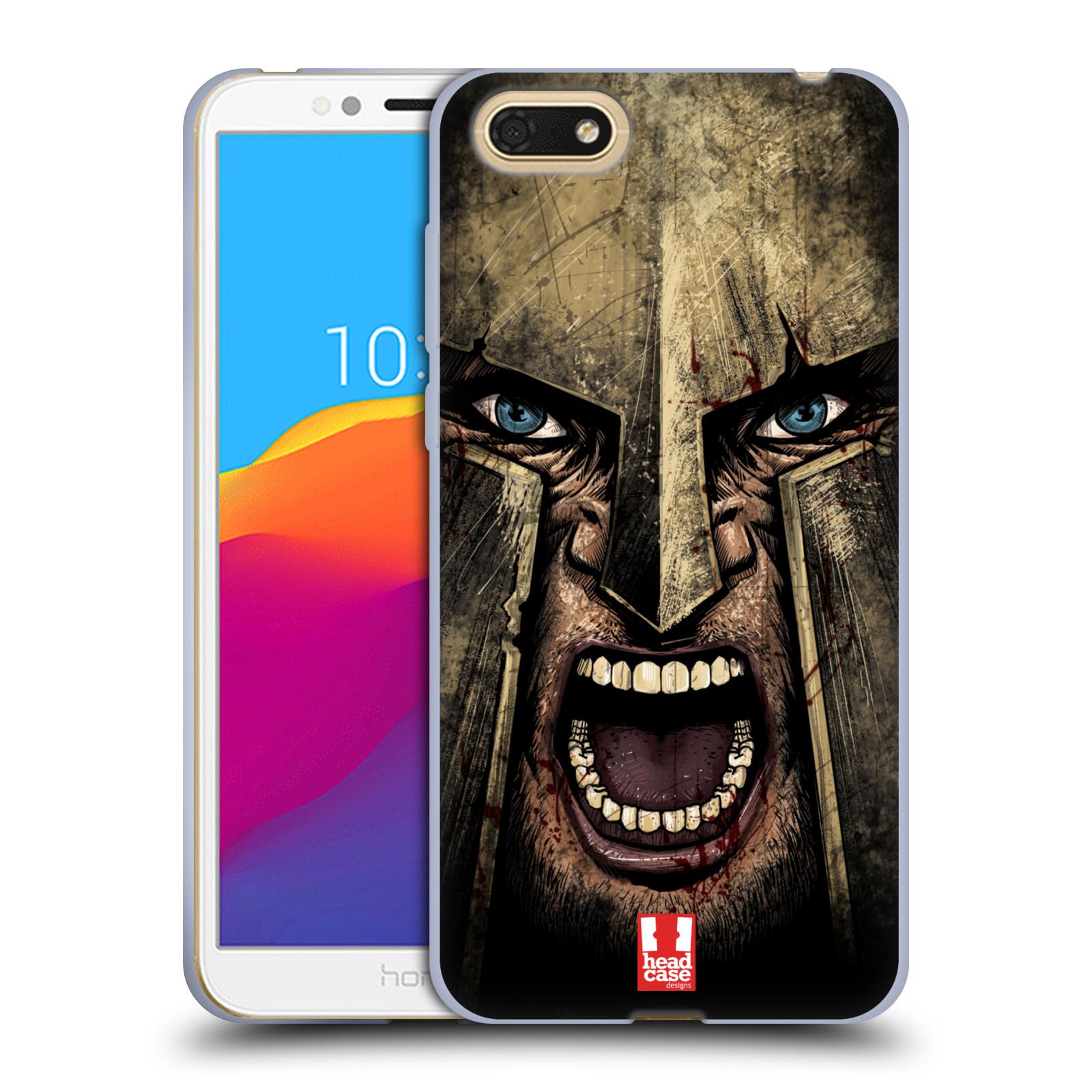 Silikonové pouzdro na mobil Honor 7S - Head Case - Řvoucí válečník