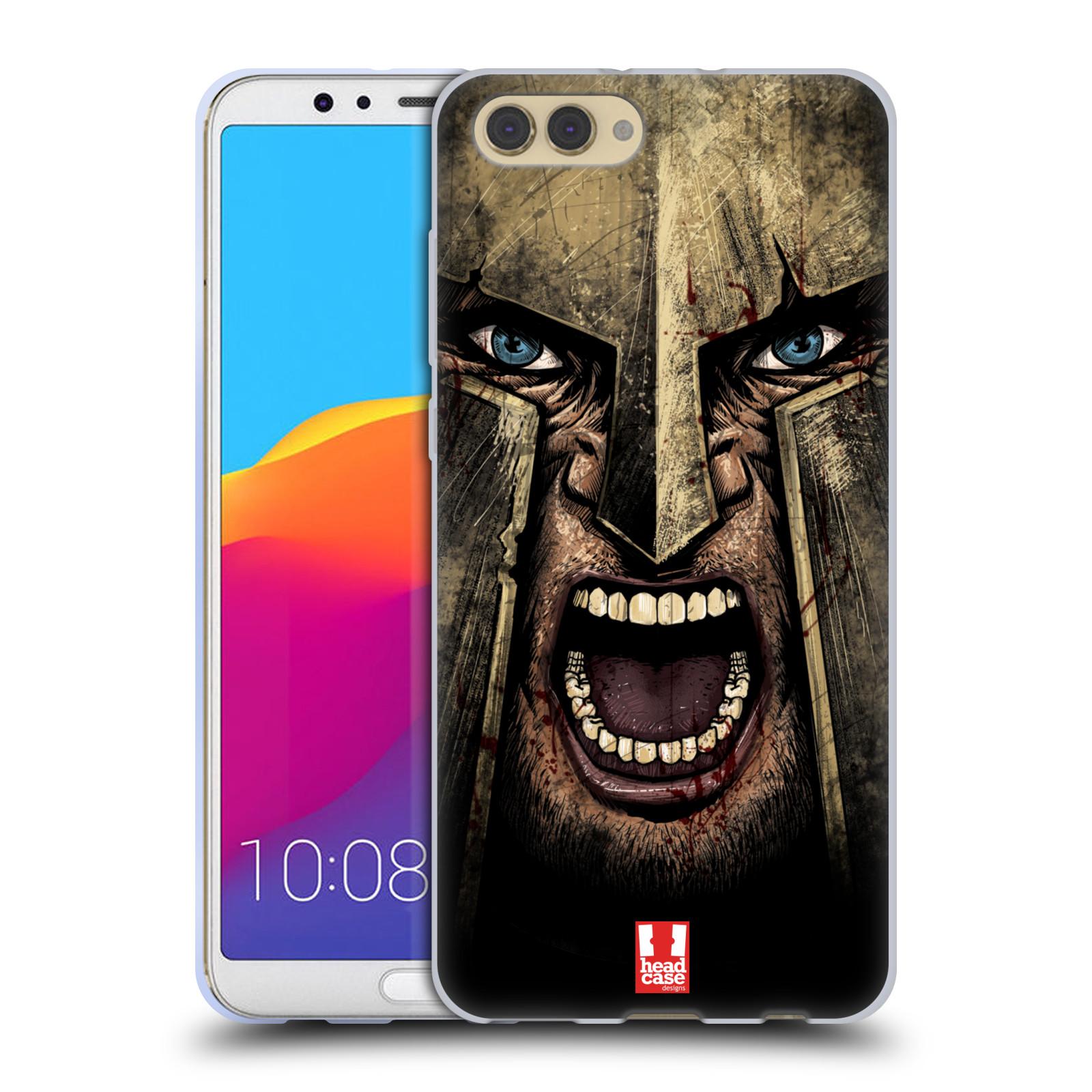 Silikonové pouzdro na mobil Honor View 10 - Head Case - Řvoucí válečník