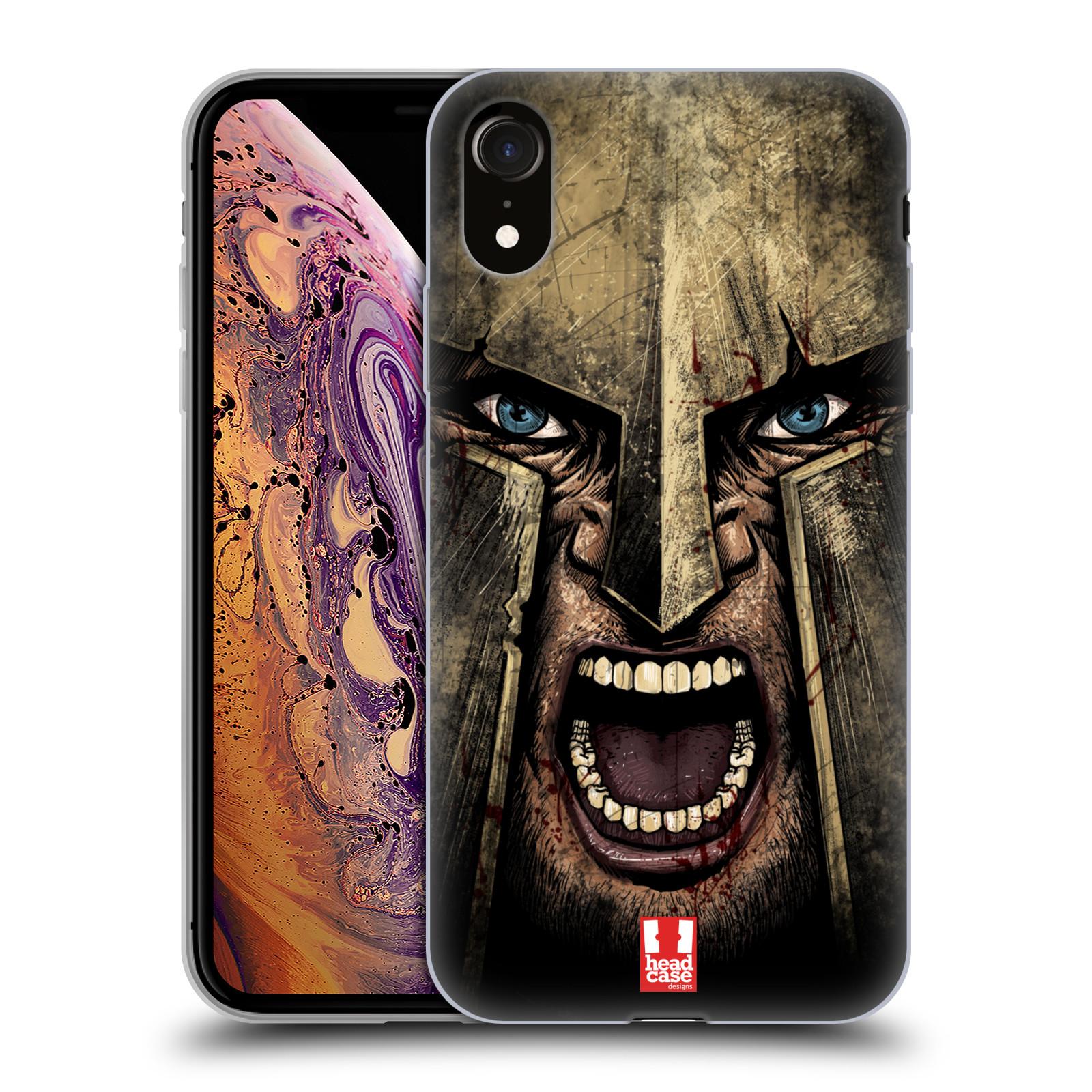 Silikonové pouzdro na mobil Apple iPhone XR - Head Case - Řvoucí válečník