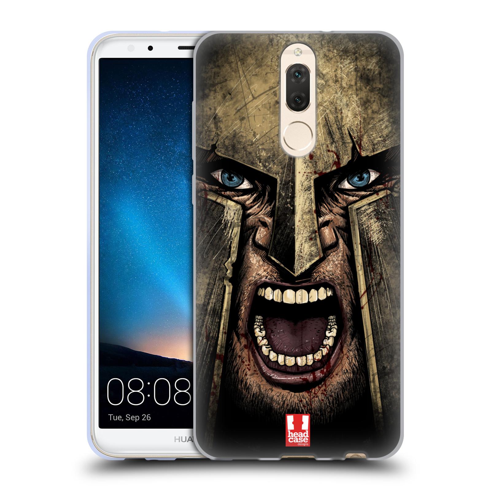 Silikonové pouzdro na mobil Huawei Mate 10 Lite - Head Case - Řvoucí válečník