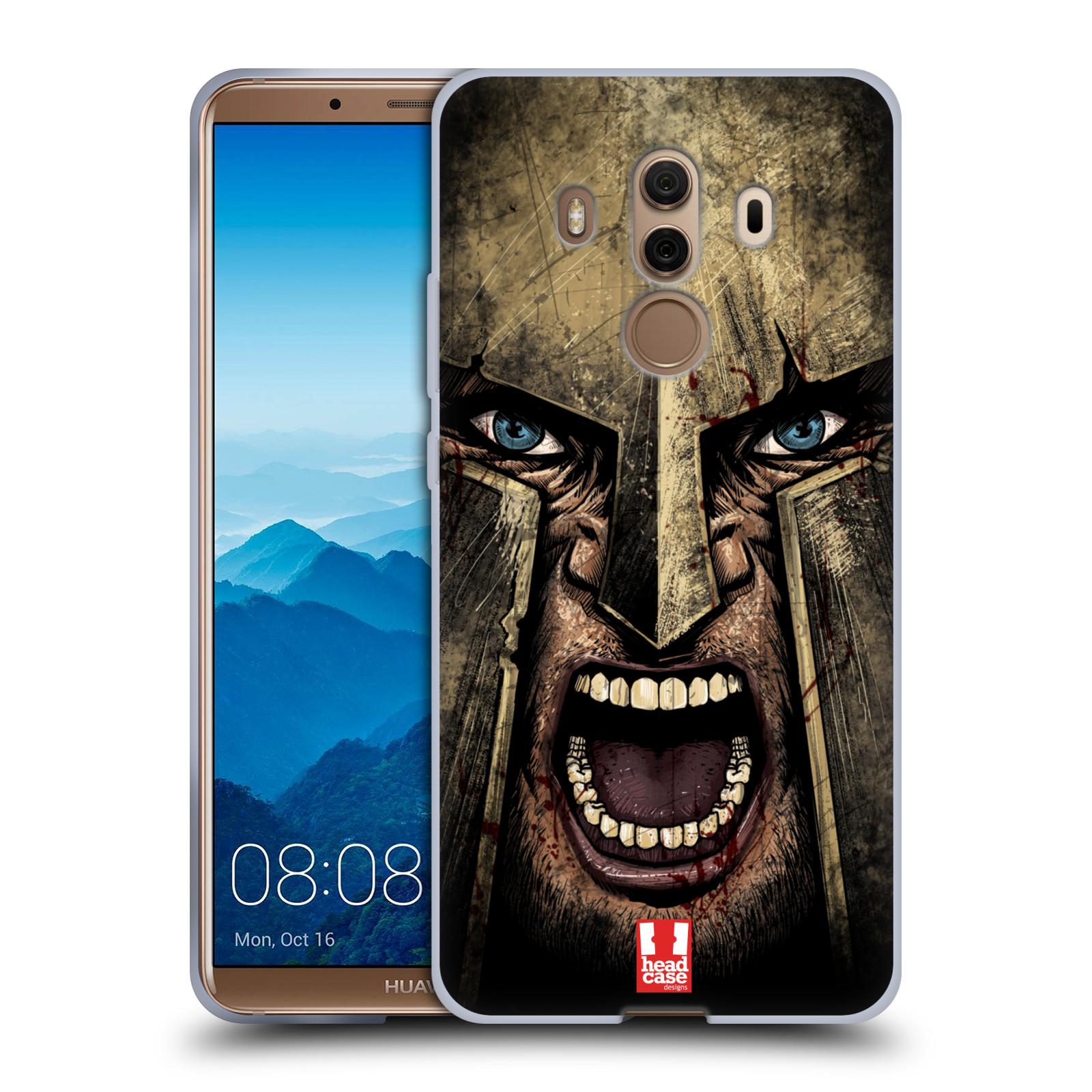 Silikonové pouzdro na mobil Huawei Mate 10 Pro - Head Case - Řvoucí válečník