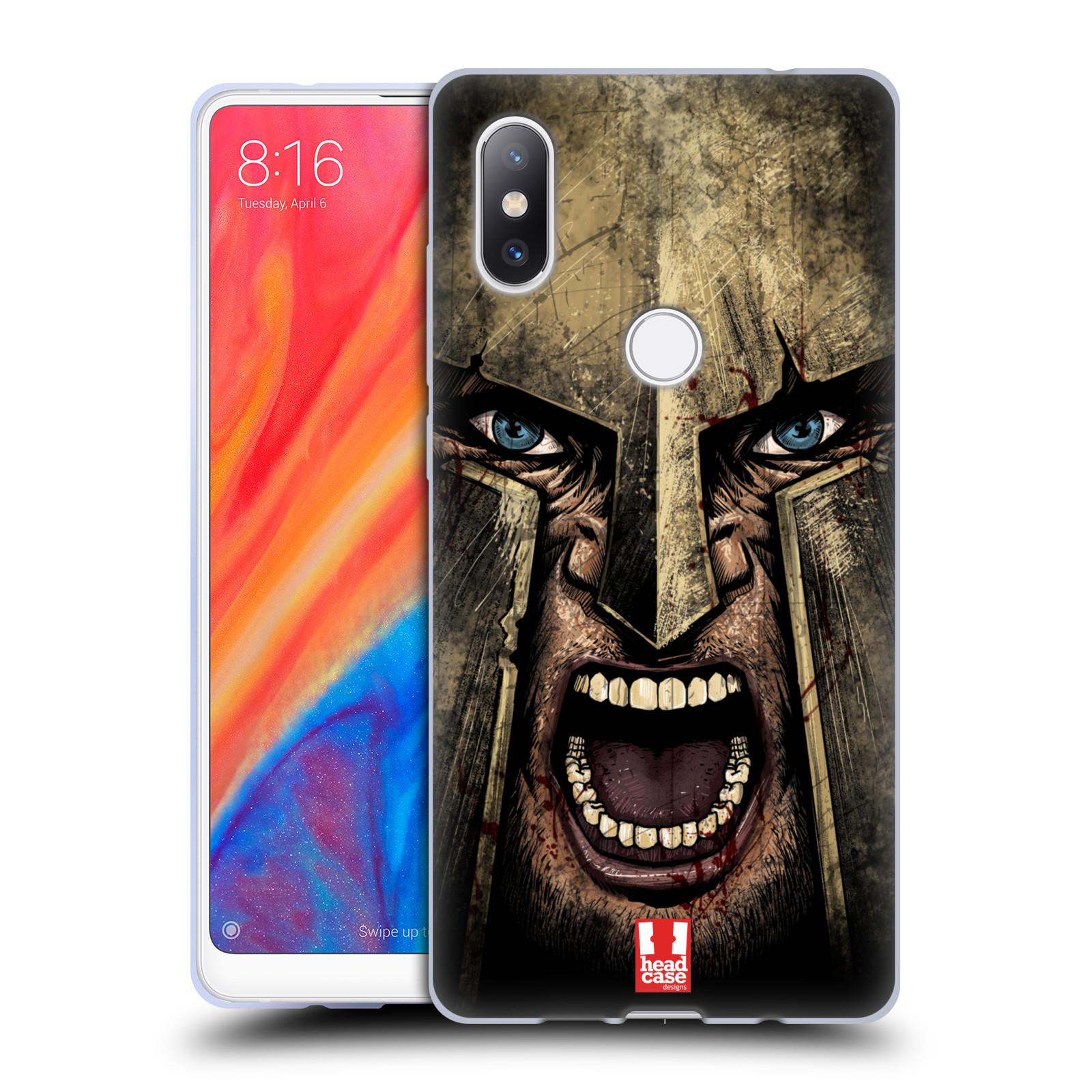 Silikonové pouzdro na mobil Xiaomi Mi Mix 2S - Head Case - Řvoucí válečník