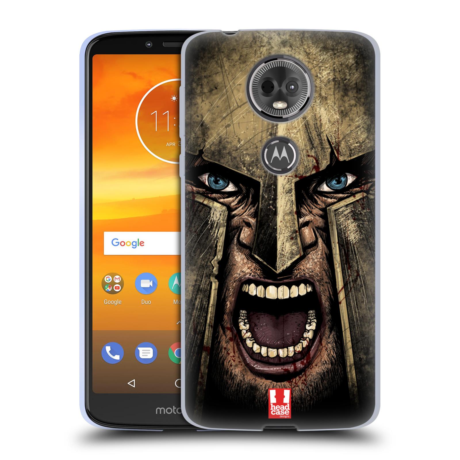 Silikonové pouzdro na mobil Motorola Moto E5 Plus - Head Case - Řvoucí válečník