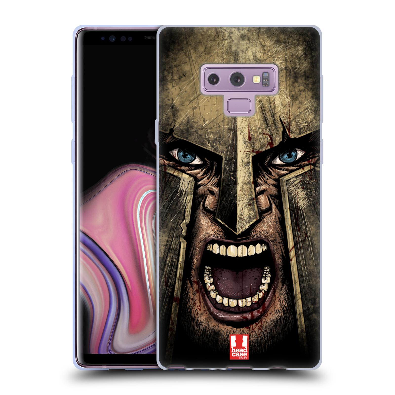 Silikonové pouzdro na mobil Samsung Galaxy Note 9 - Head Case - Řvoucí válečník