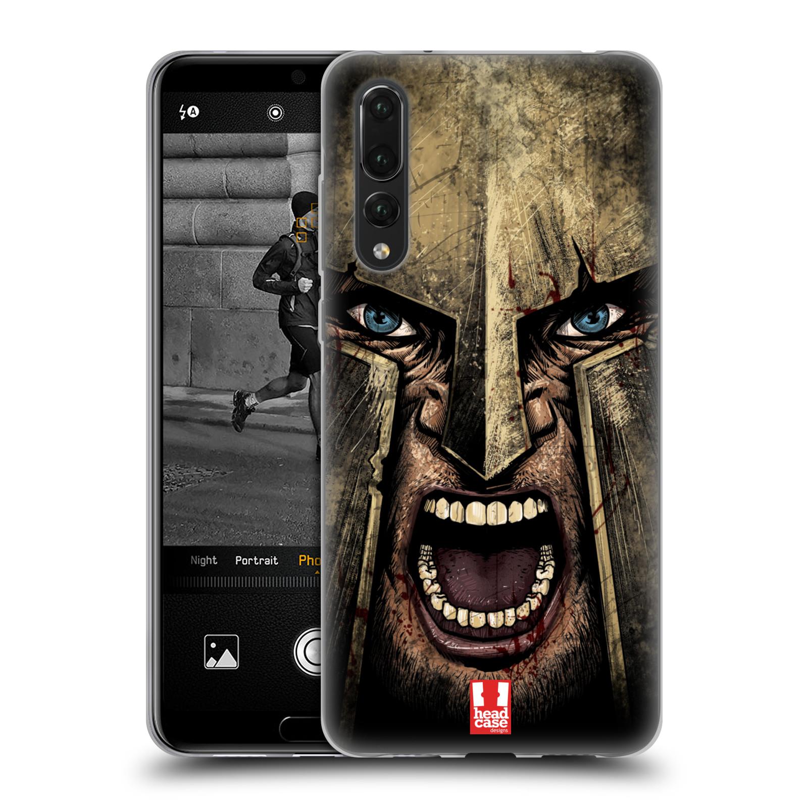 Silikonové pouzdro na mobil Huawei P20 Pro - Head Case - Řvoucí válečník