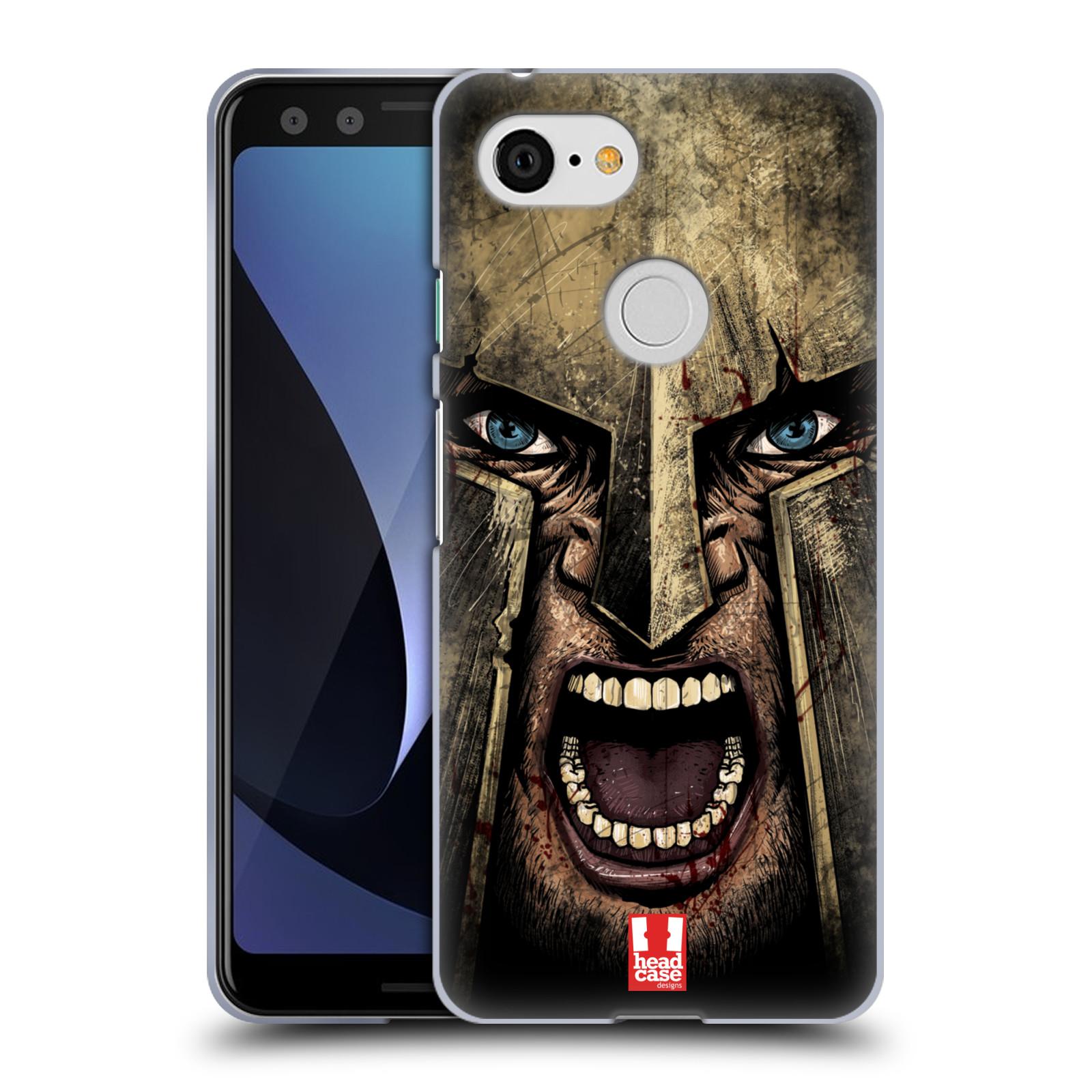 Silikonové pouzdro na mobil Google Pixel 3 - Head Case - Řvoucí válečník