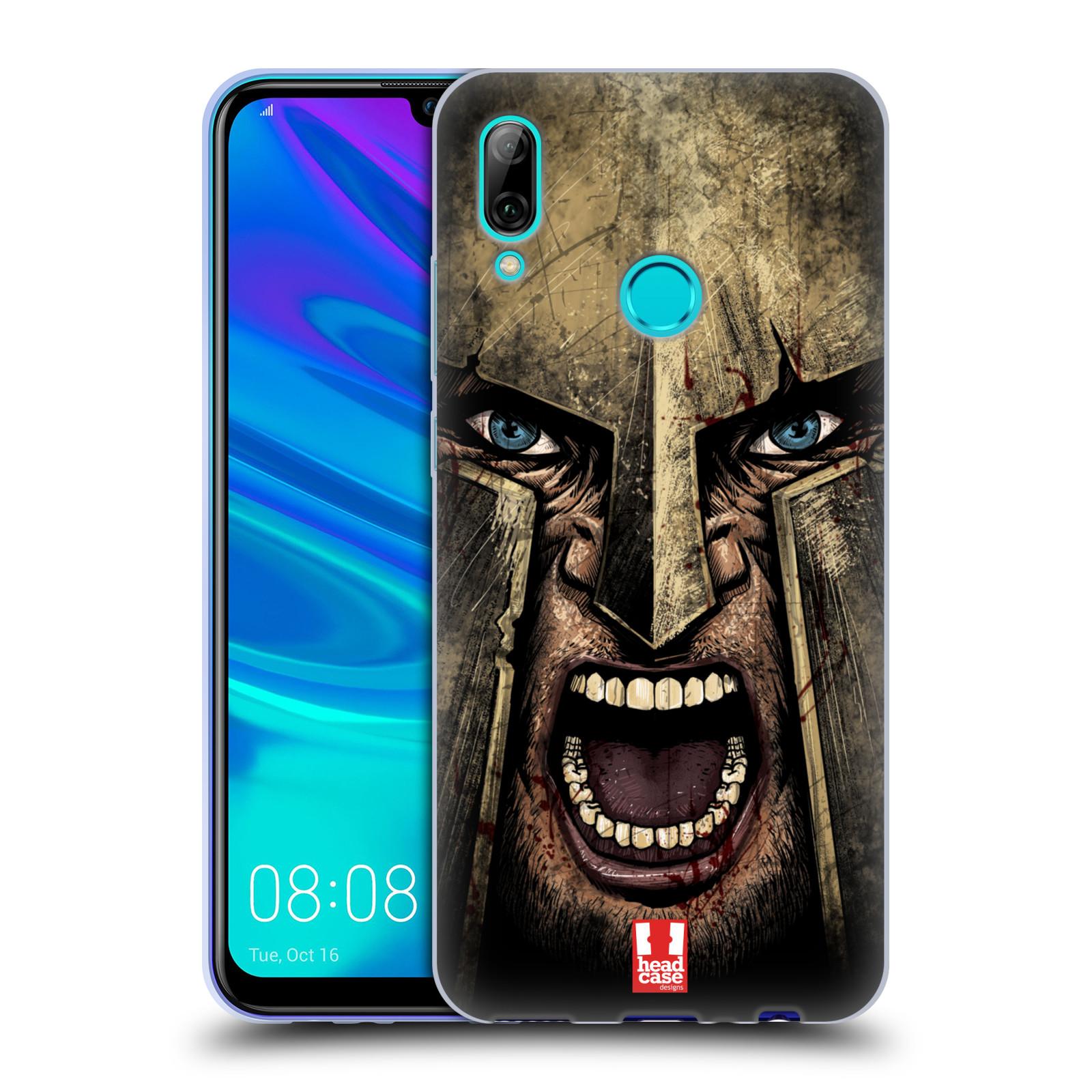 Silikonové pouzdro na mobil Honor 10 Lite - Head Case - Řvoucí válečník