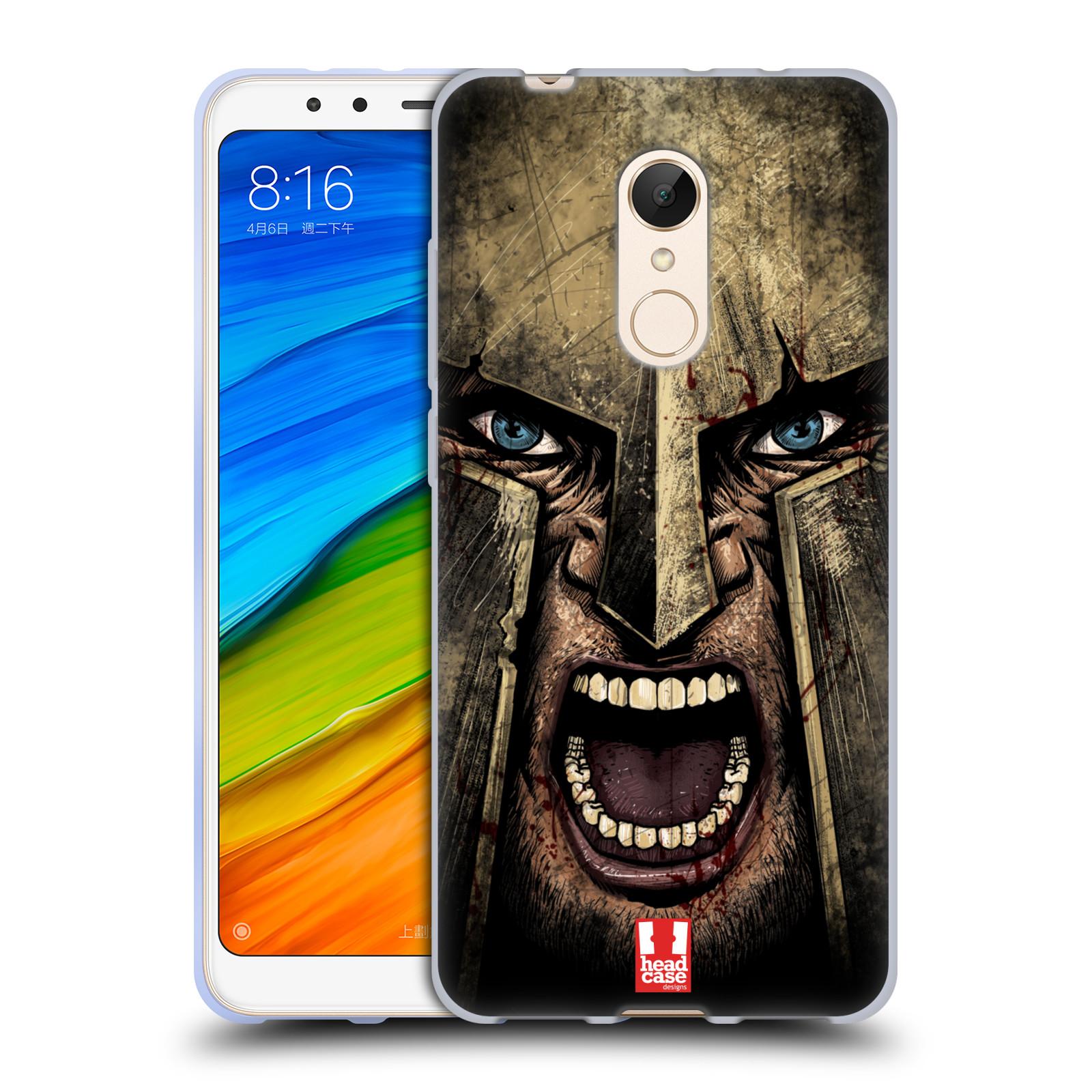 Silikonové pouzdro na mobil Xiaomi Redmi 5 - Head Case - Řvoucí válečník