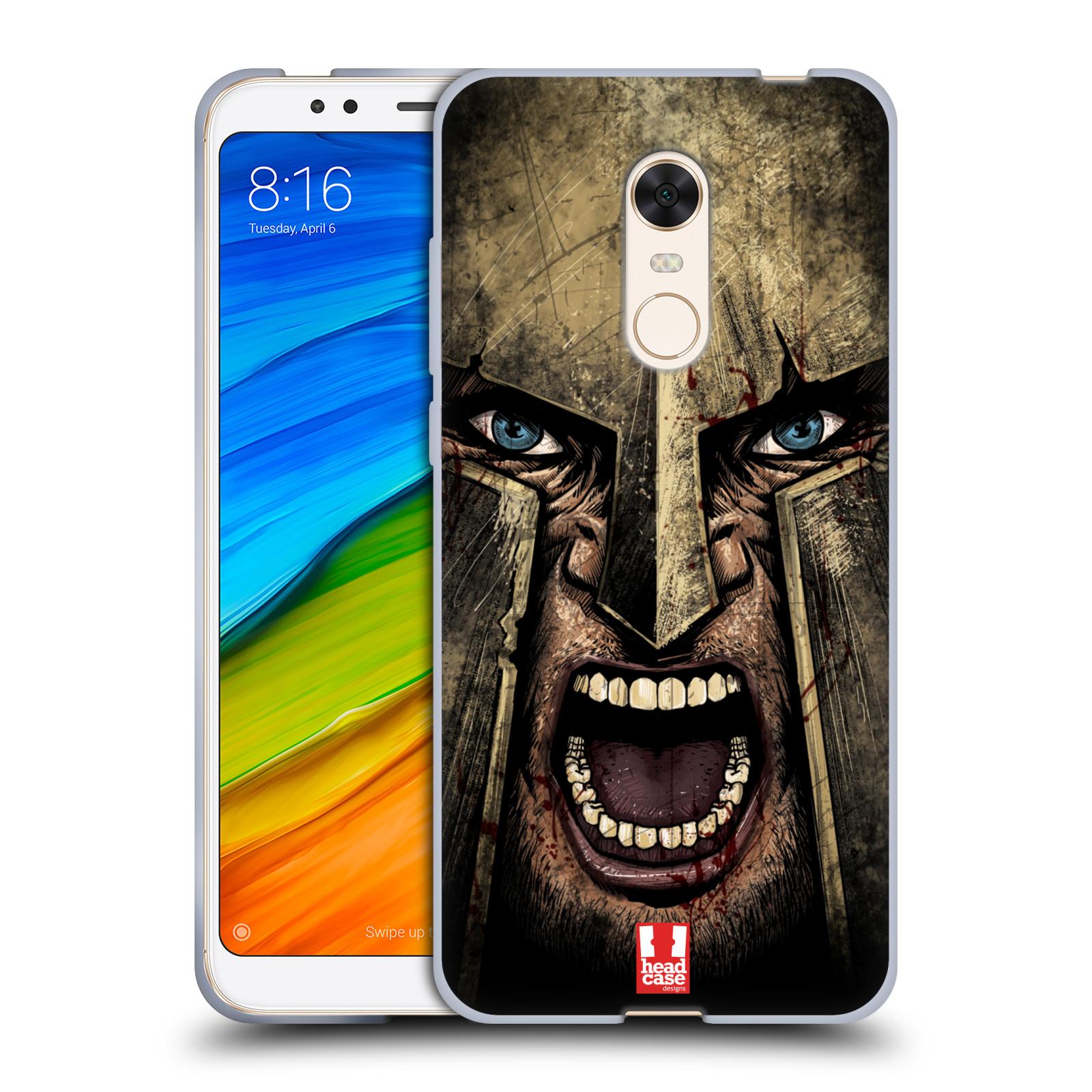 Silikonové pouzdro na mobil Xiaomi Redmi 5 Plus - Head Case - Řvoucí válečník