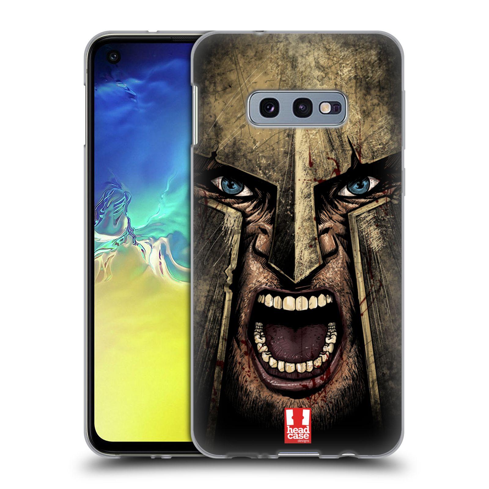 Silikonové pouzdro na mobil Samsung Galaxy S10e - Head Case - Řvoucí válečník