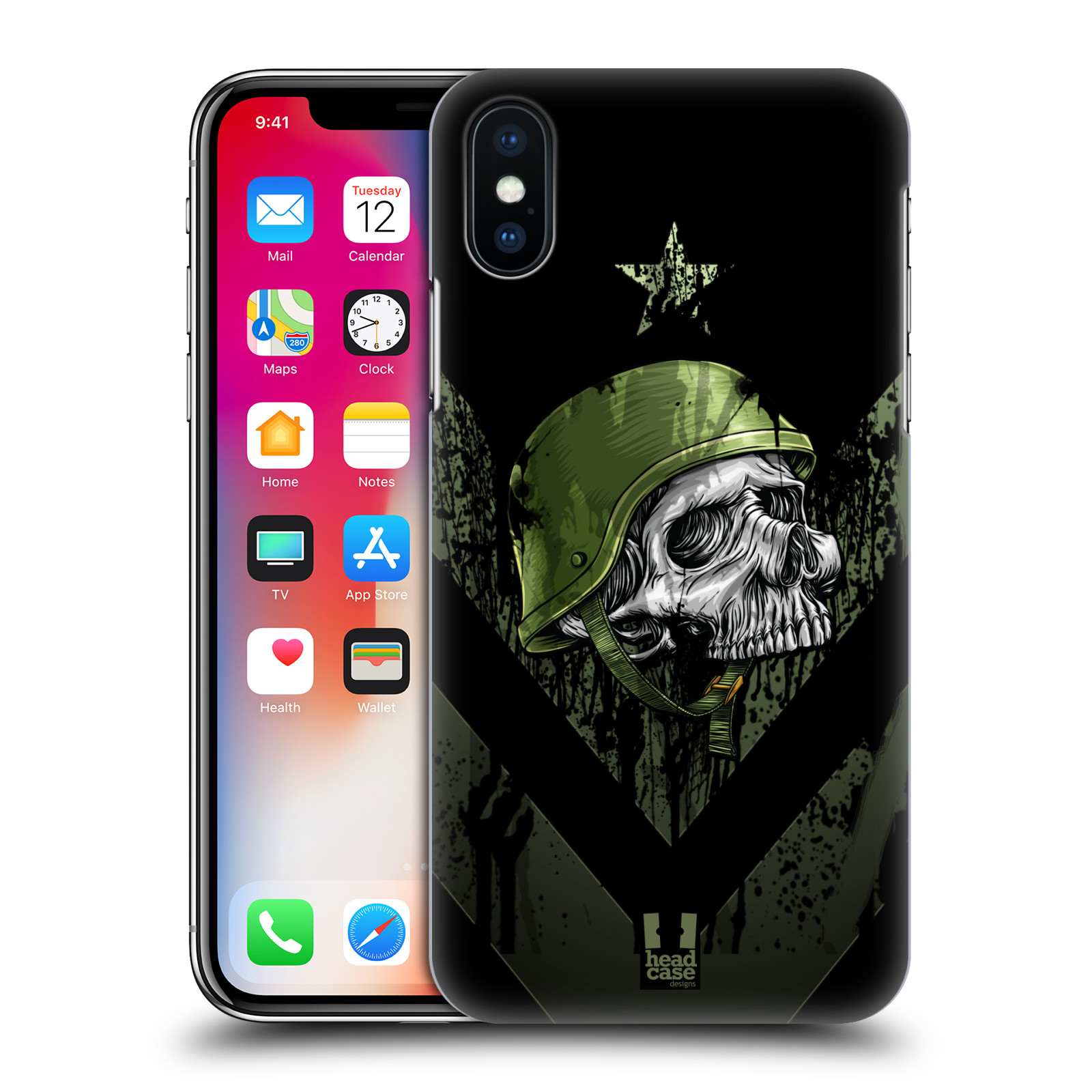 Plastové pouzdro na mobil Apple iPhone X - Head Case - LEBKA ONE MAN