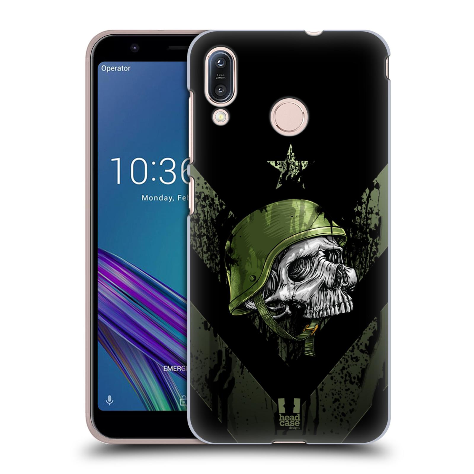 Plastové pouzdro na mobil Asus Zenfone Max M1 ZB555KL - Head Case - LEBKA ONE MAN