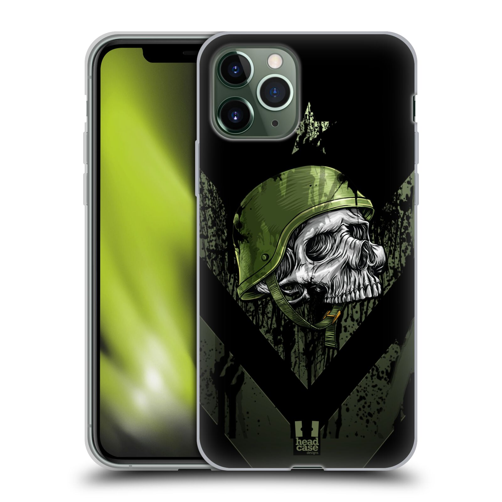 gucci iphone x skin - Silikonové pouzdro na mobil Apple iPhone 11 Pro - Head Case - LEBKA ONE MAN