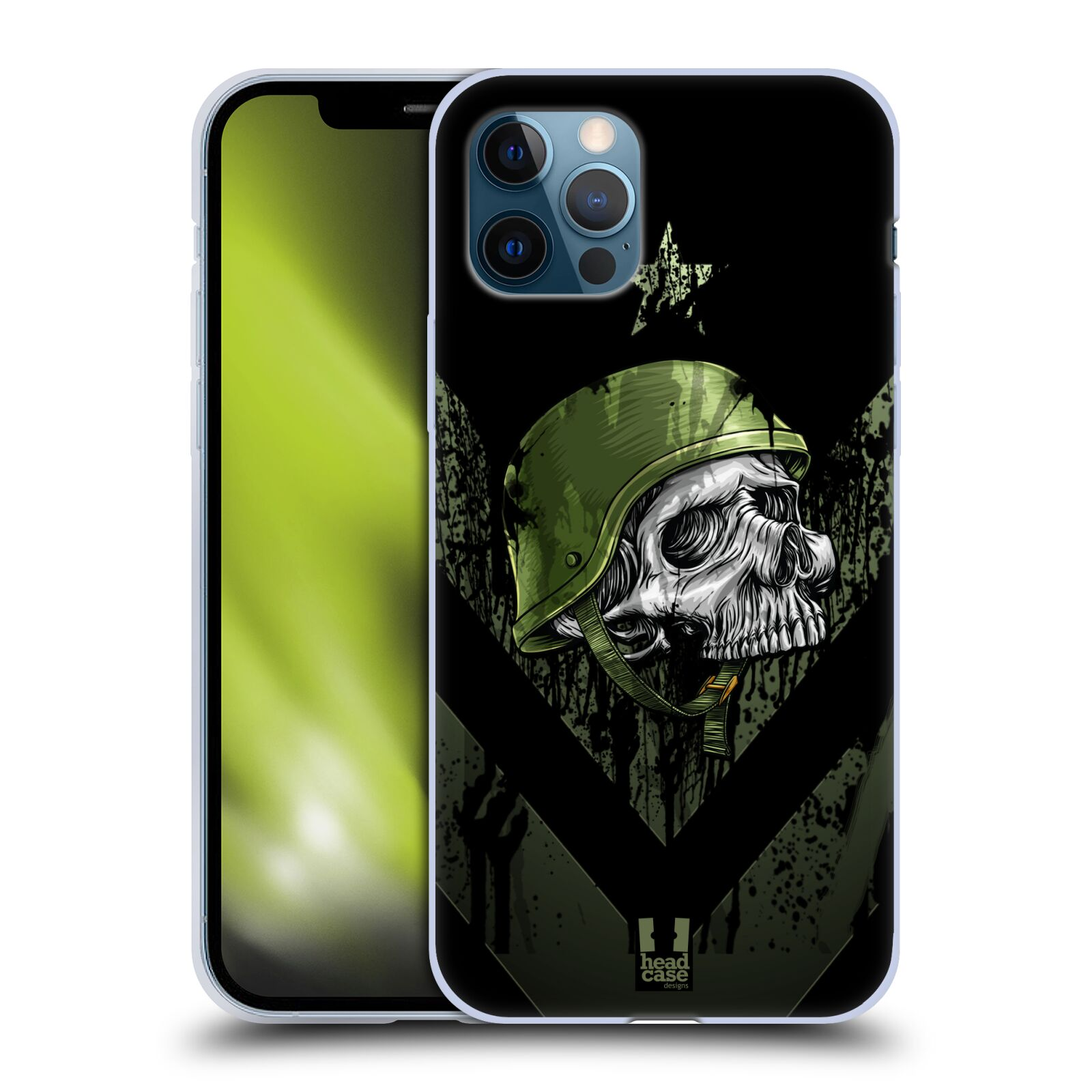 Silikonové pouzdro na mobil Apple iPhone 12 / 12 Pro - Head Case - LEBKA ONE MAN