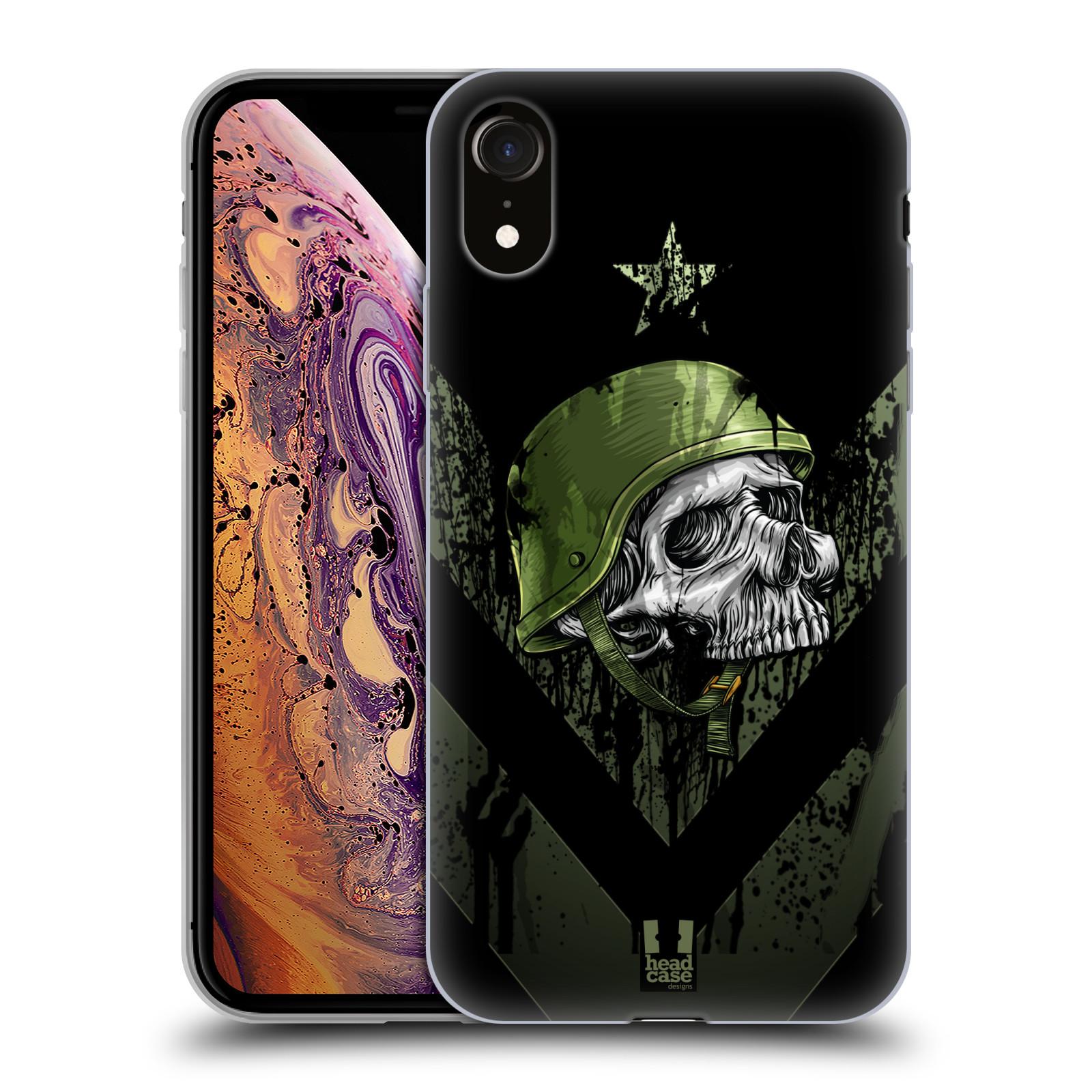 Silikonové pouzdro na mobil Apple iPhone XR - Head Case - LEBKA ONE MAN