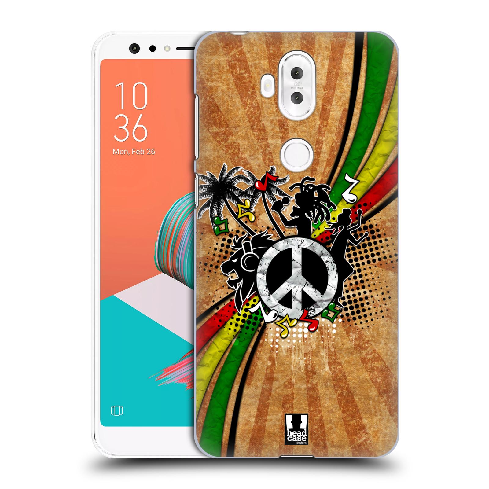 Plastové pouzdro na mobil Asus ZenFone 5 Lite ZC600KL - Head Case - REGGAE (Plastový kryt či obal na mobilní telefon Asus ZenFone 5 Lite (ZC600KL) s motivem REGGAE)