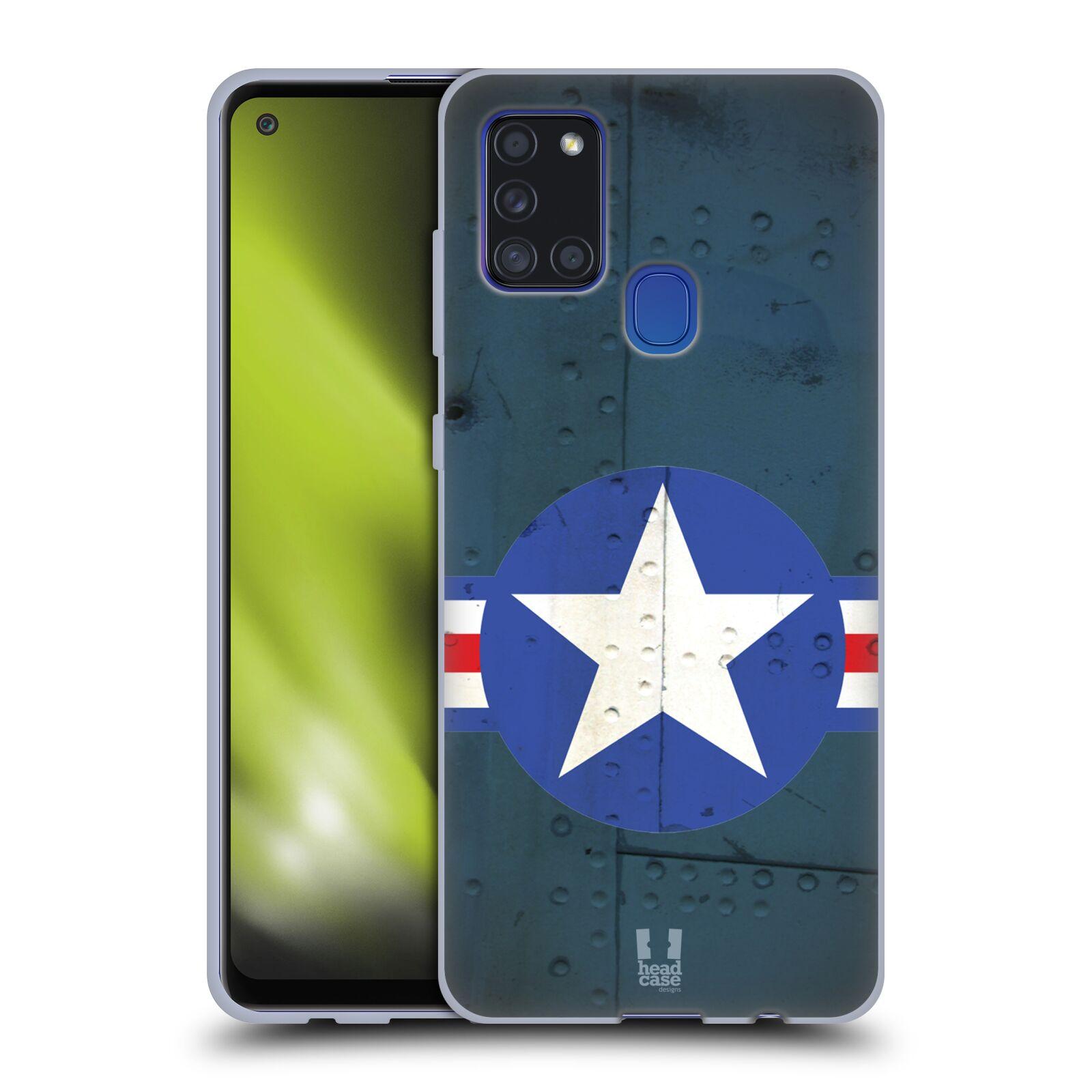 Silikonové pouzdro na mobil Samsung Galaxy A21s - Head Case - POSTWAR