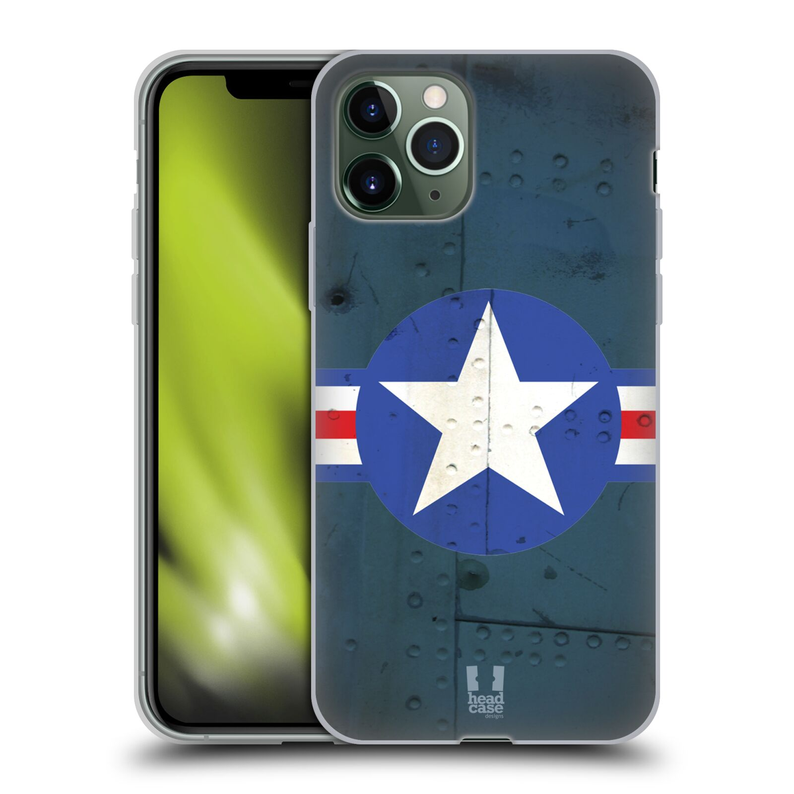 kryt na iphone 7 marvel - Silikonové pouzdro na mobil Apple iPhone 11 Pro - Head Case - POSTWAR