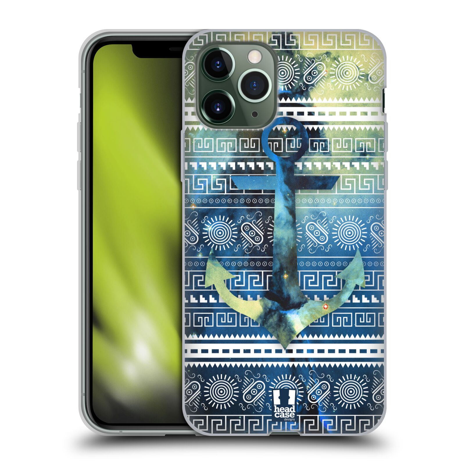 gucci iphone 7 plus skin - Silikonové pouzdro na mobil Apple iPhone 11 Pro - Head Case - NEBULA KOTVA