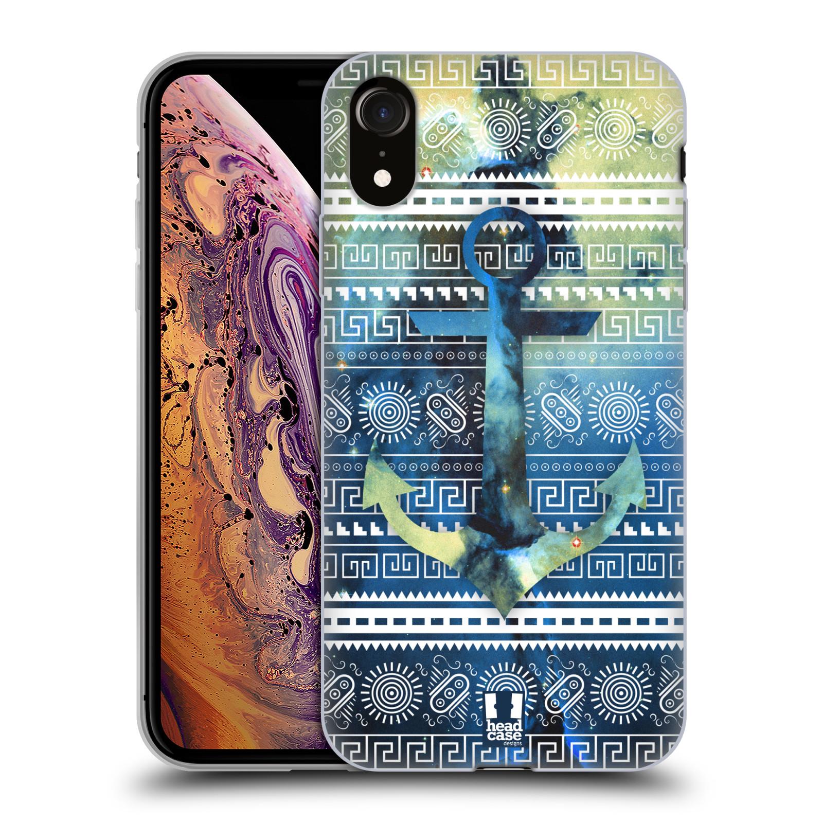 Silikonové pouzdro na mobil Apple iPhone XR - Head Case - NEBULA KOTVA