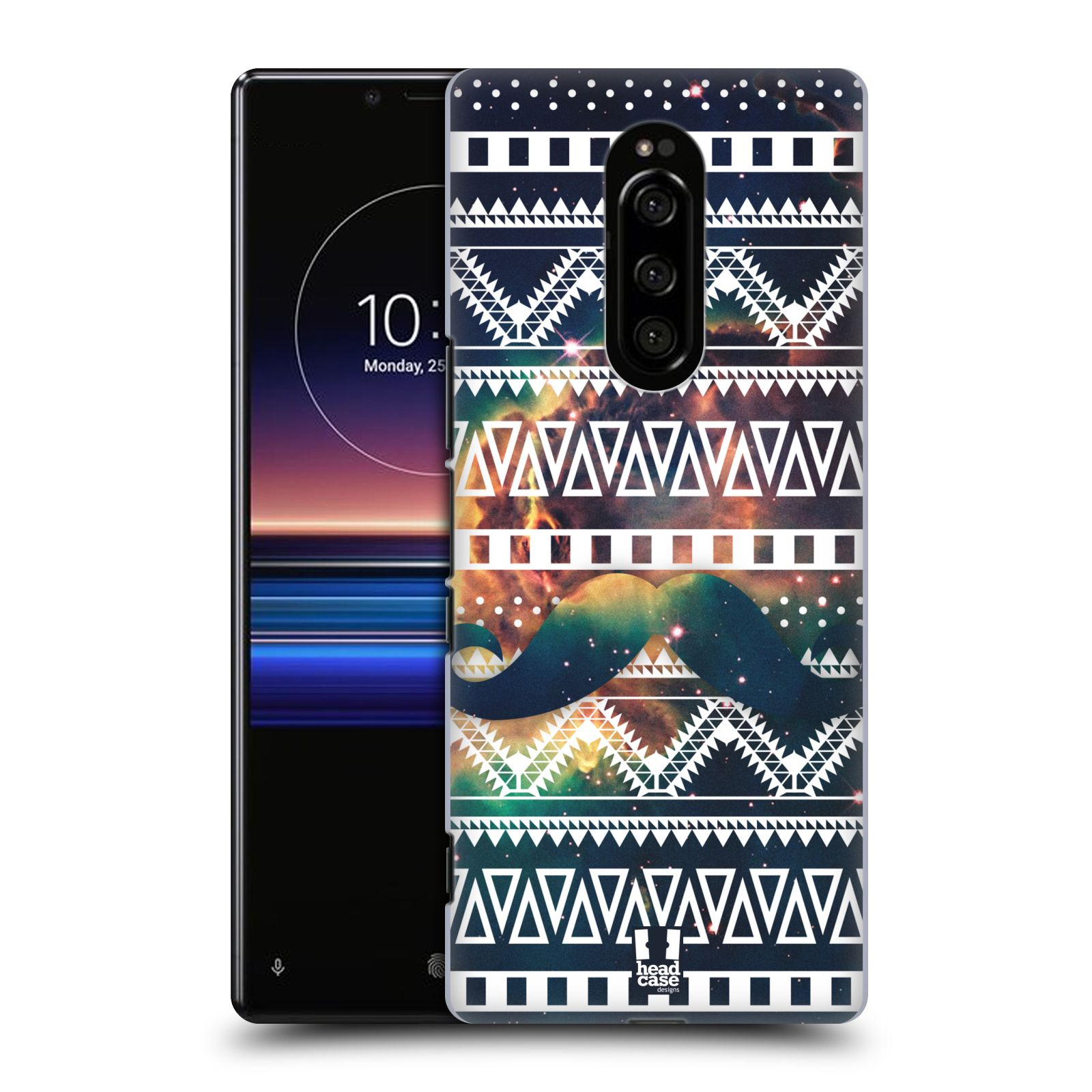Plastové pouzdro na mobil Sony Xperia 1 - Head Case - AZTEC KNÍR (Plastový kryt, pouzdro, obal na mobilní telefon Sony Xperia 1 (Sony Xperia XZ4) s motivem AZTEC KNÍR)