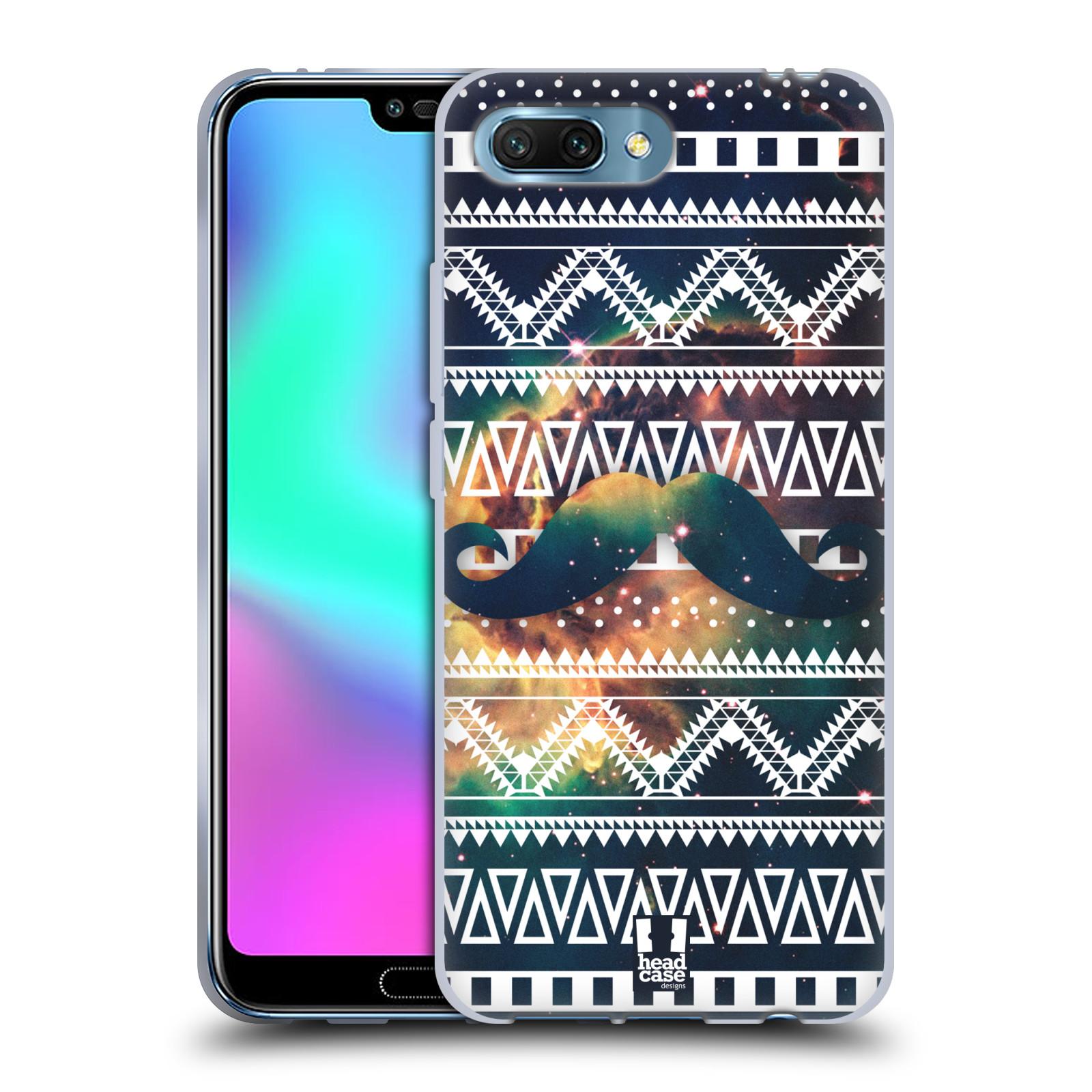 Silikonové pouzdro na mobil Honor 10 - Head Case - AZTEC KNÍR