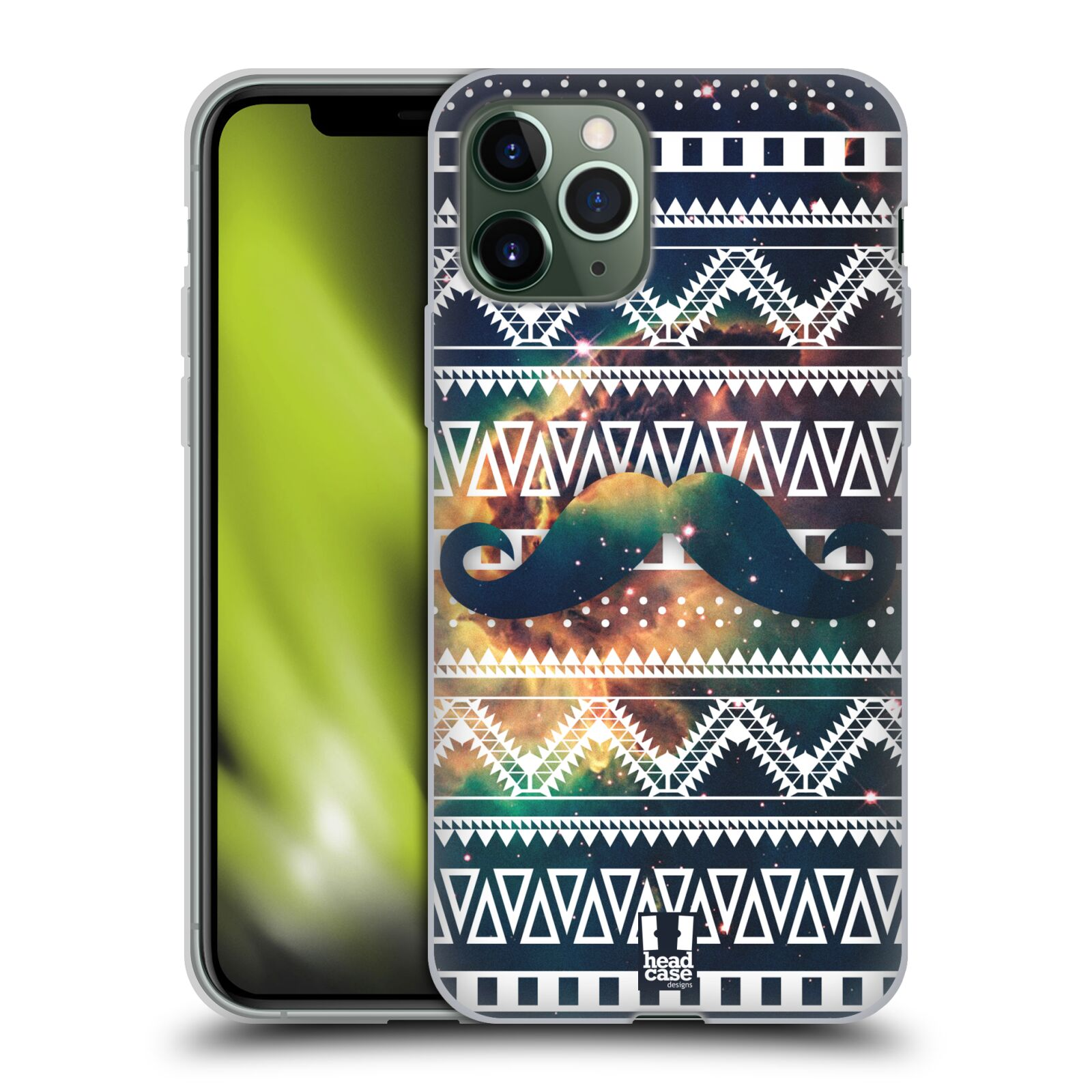 gucci iphone 7 case ebay | Silikonové pouzdro na mobil Apple iPhone 11 Pro - Head Case - AZTEC KNÍR