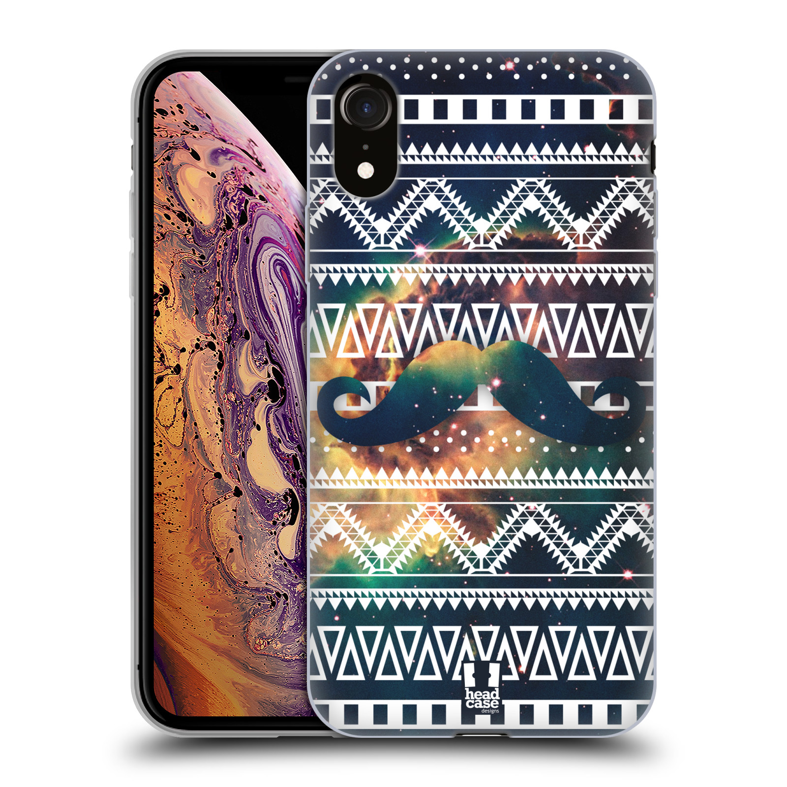 Silikonové pouzdro na mobil Apple iPhone XR - Head Case - AZTEC KNÍR
