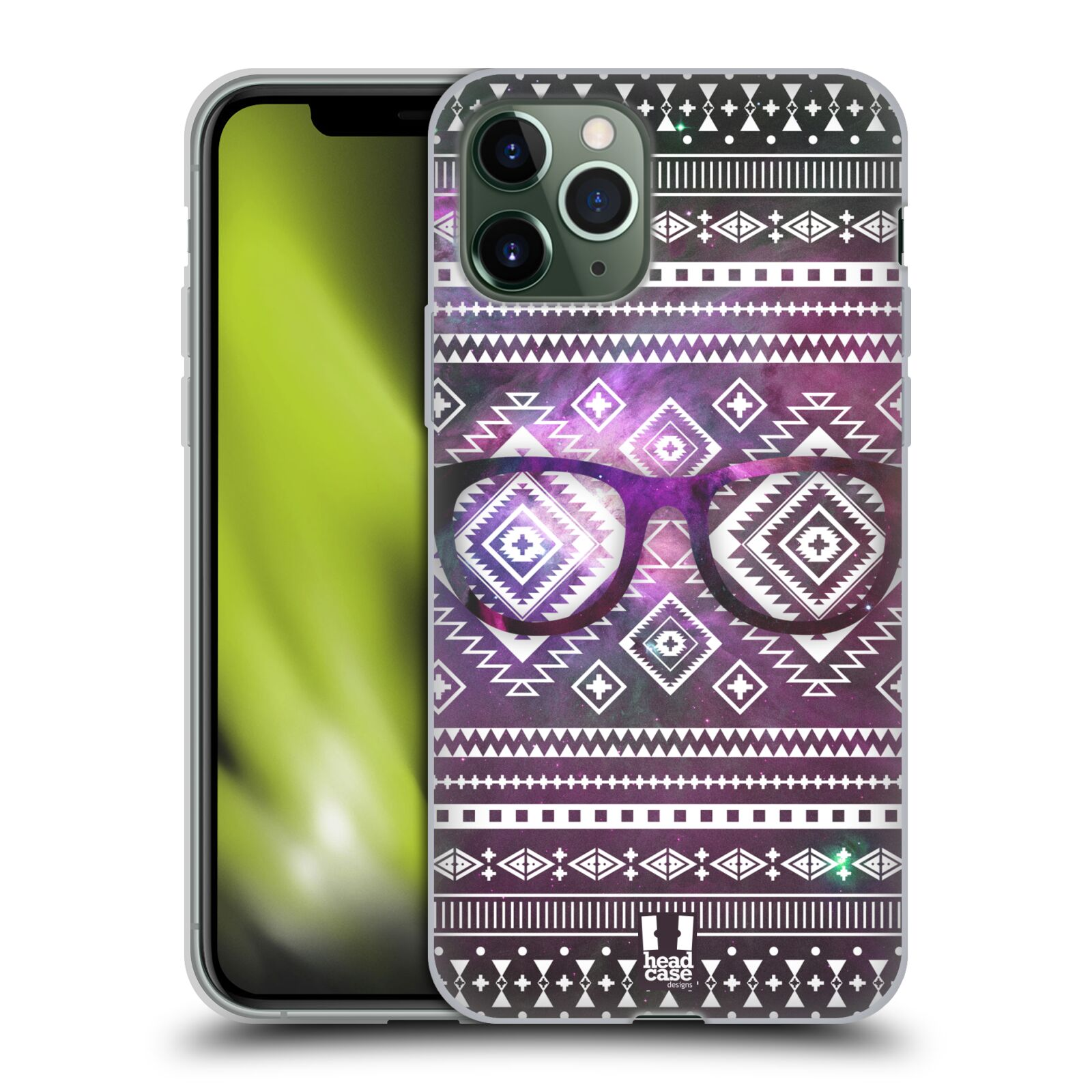 gucci iphone x case uae - Silikonové pouzdro na mobil Apple iPhone 11 Pro - Head Case - NEBULA BRÝLE