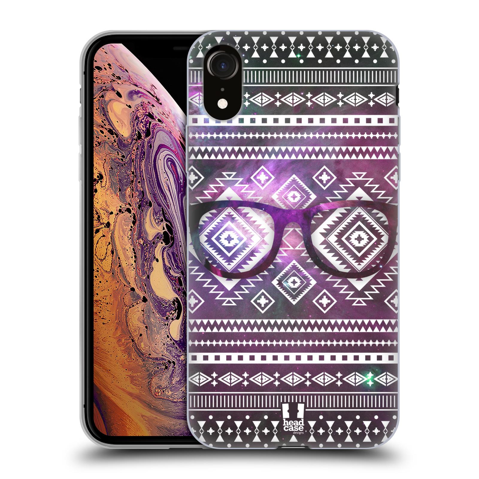 Silikonové pouzdro na mobil Apple iPhone XR - Head Case - NEBULA BRÝLE