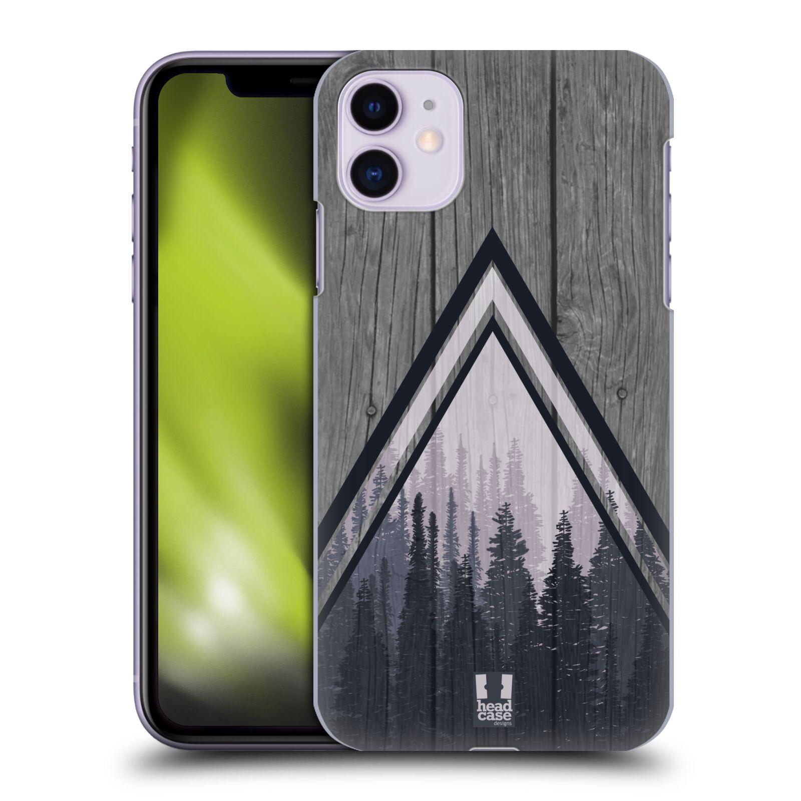Plastové pouzdro na mobil Apple iPhone 11 - Head Case - Dřevo a temný les