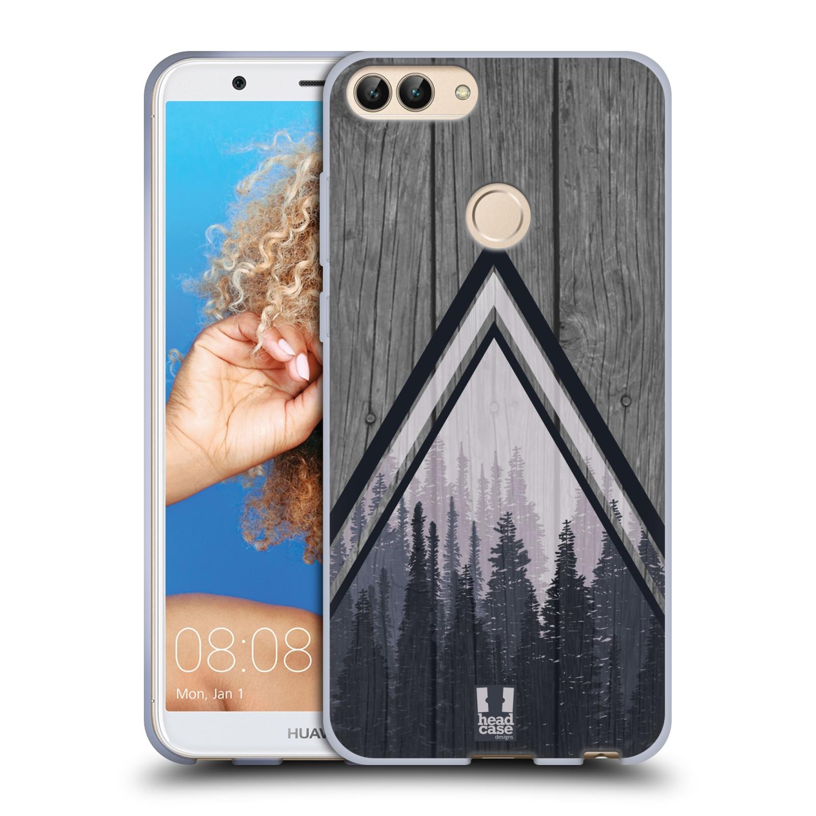 Silikonové pouzdro na mobil Huawei P Smart - Head Case - Dřevo a temný les