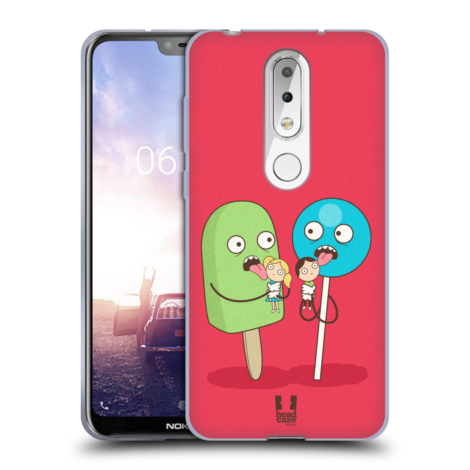 Silikonové pouzdro na mobil Nokia 6.1 Plus - Head Case - DEN NARUBY LÍZÁTKA