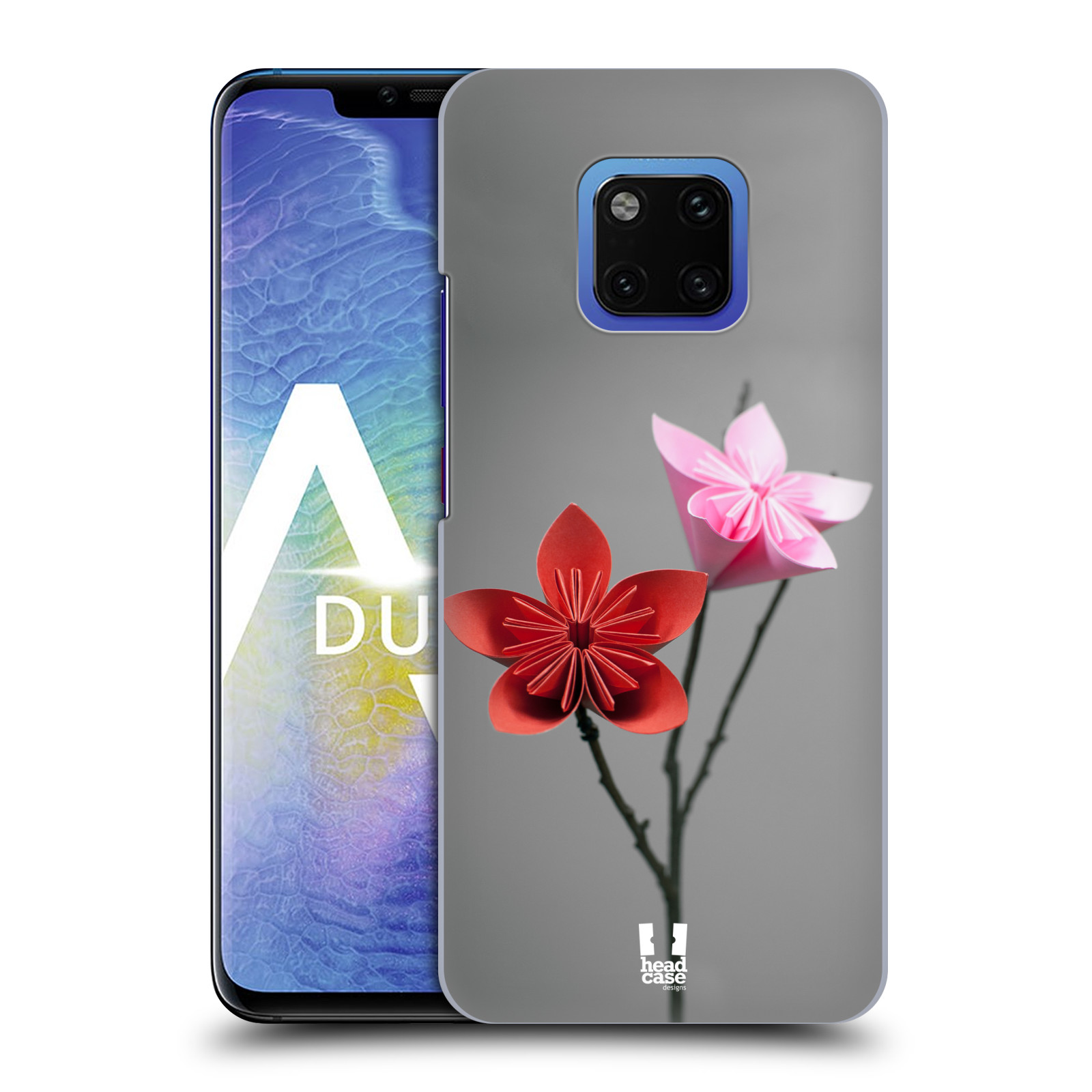 Plastové pouzdro na mobil Huawei Mate 20 Pro - Head Case - KUSUDAMA (Plastový kryt, pouzdro, obal na mobilní telefon Huawei Mate 20 Pro Dual Sim s motivem KUSUDAMA)