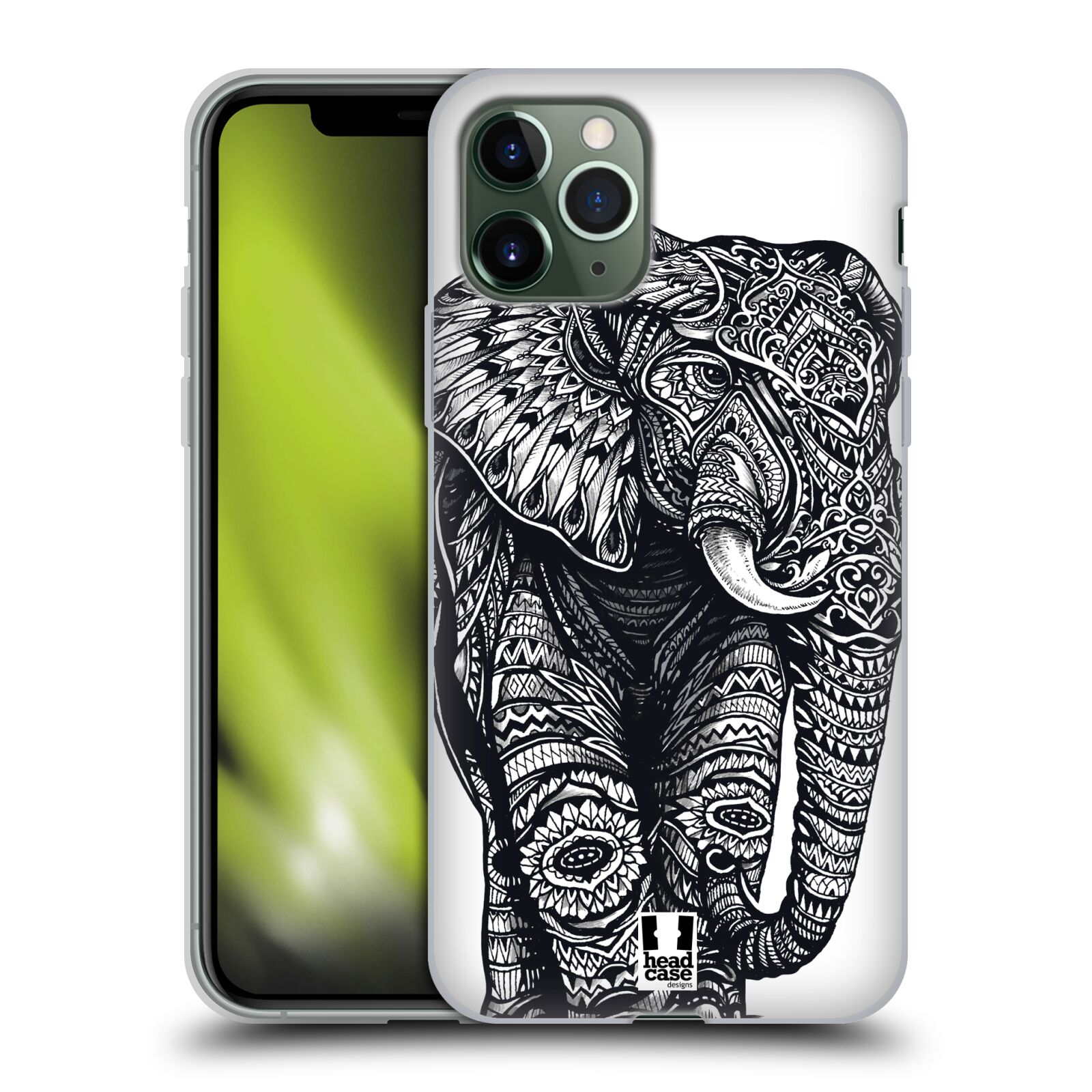 gucci phone case iphone x india - Silikonové pouzdro na mobil Apple iPhone 11 Pro - Head Case - Zdobený Slon