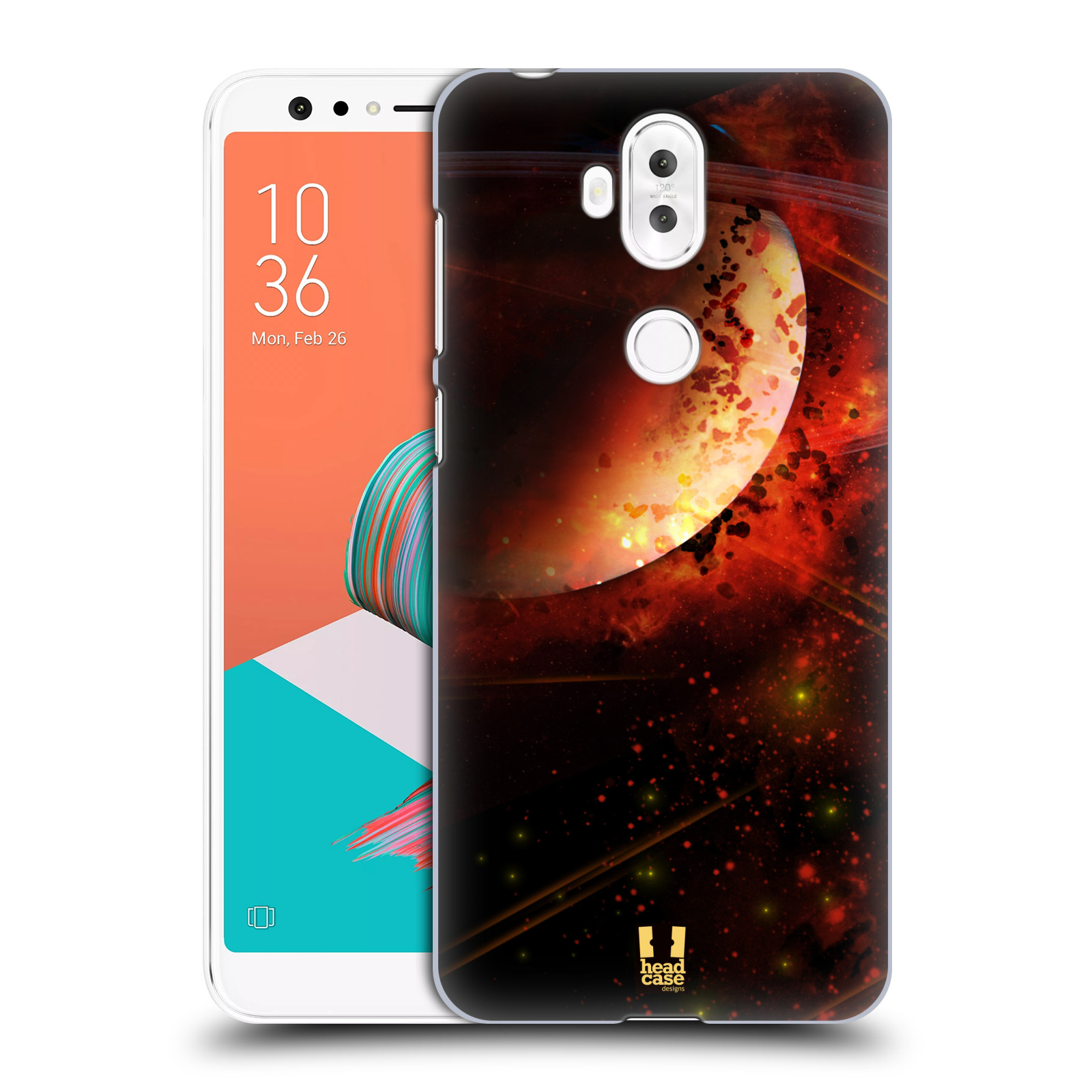 Plastové pouzdro na mobil Asus ZenFone 5 Lite ZC600KL - Head Case - SATURN (Plastový kryt či obal na mobilní telefon Asus ZenFone 5 Lite (ZC600KL) s motivem SATURN)