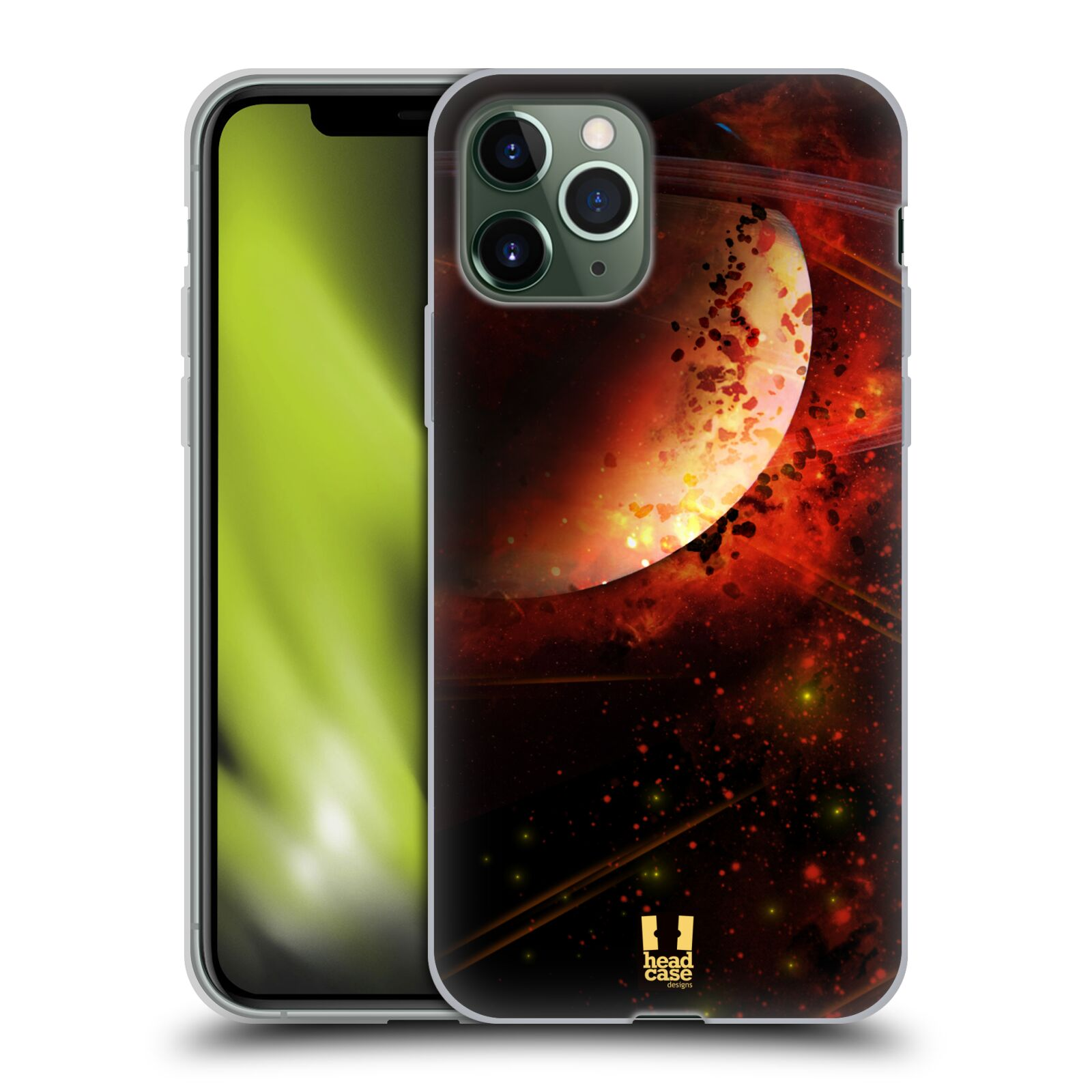 iphone 7 kryt original | Silikonové pouzdro na mobil Apple iPhone 11 Pro - Head Case - SATURN