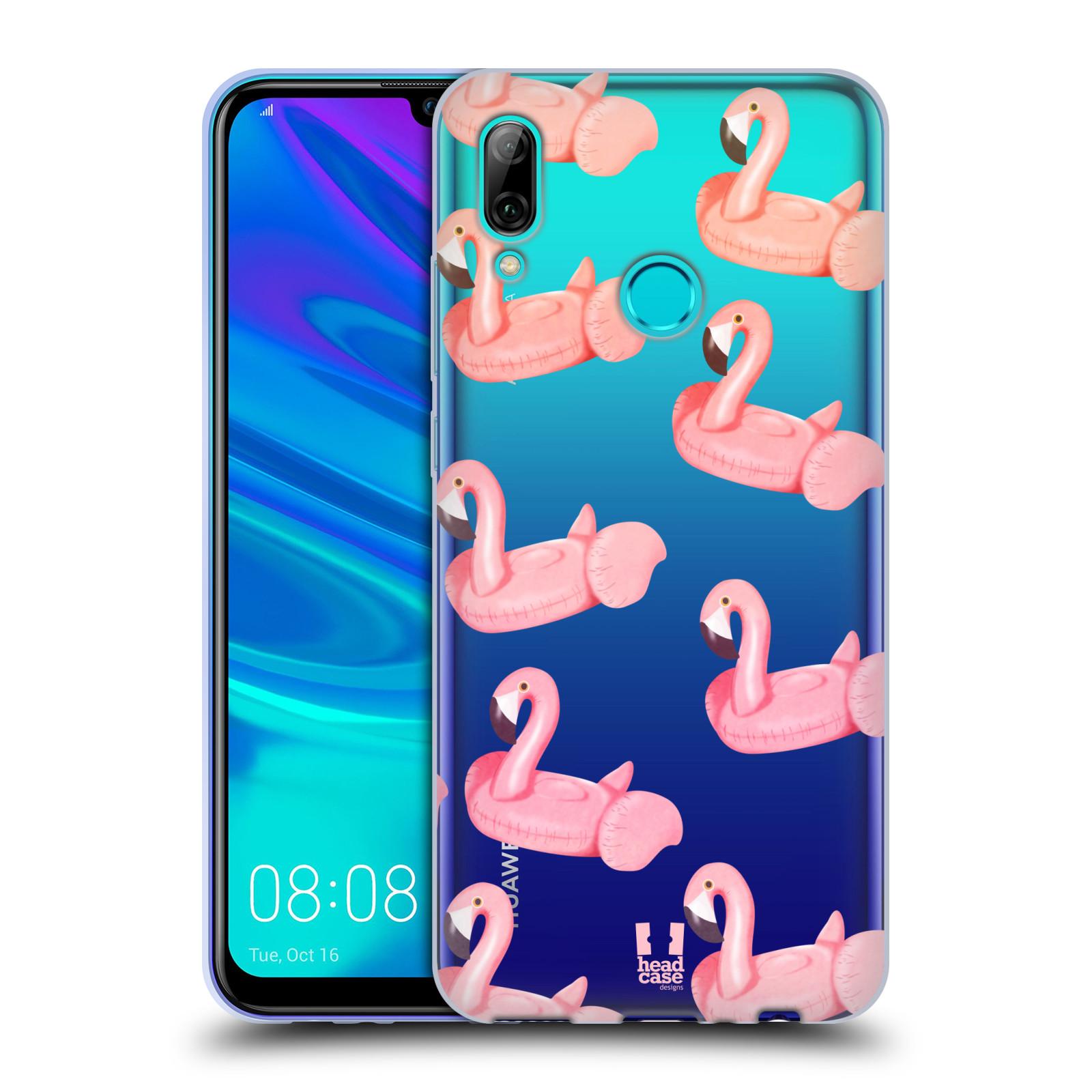 Silikonové pouzdro na mobil Huawei P Smart (2019) - Head Case - Kruh plaměňák